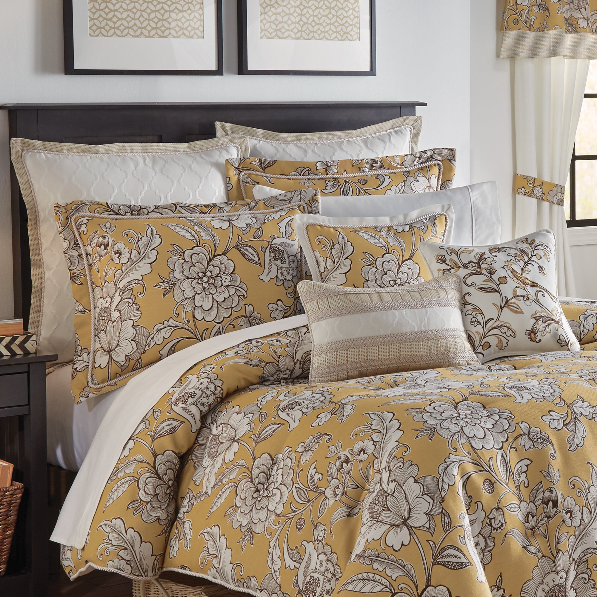 pin closeout distinction croscill comforter by sets damask damasks bedding