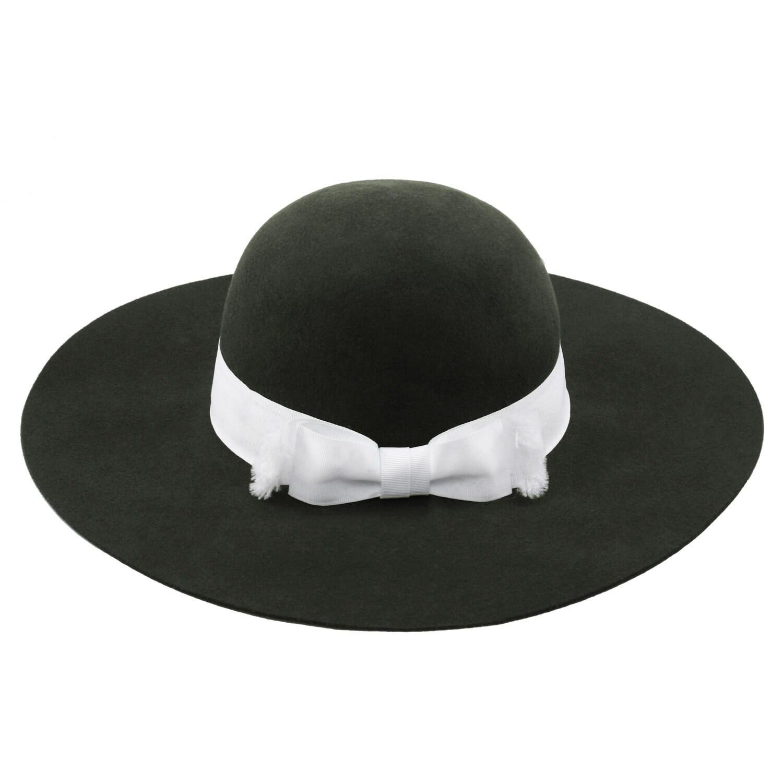 0602c0b8943 Shop AdornA by Milano Elizabeth T Medium Wool Felt Wide Brim Hat - Ships To  Canada - - 15340578