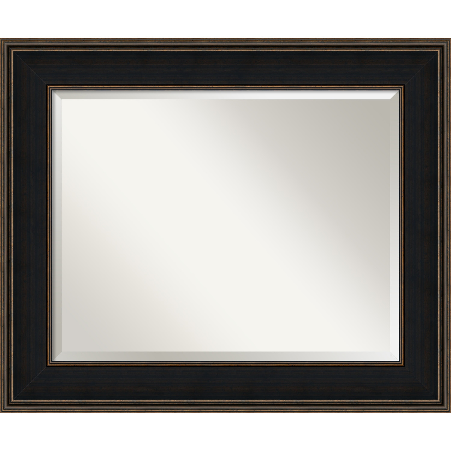 Bathroom Mirror Large Mezzanine Espresso 36 X 30 Inch Free Shipping Today 15341176