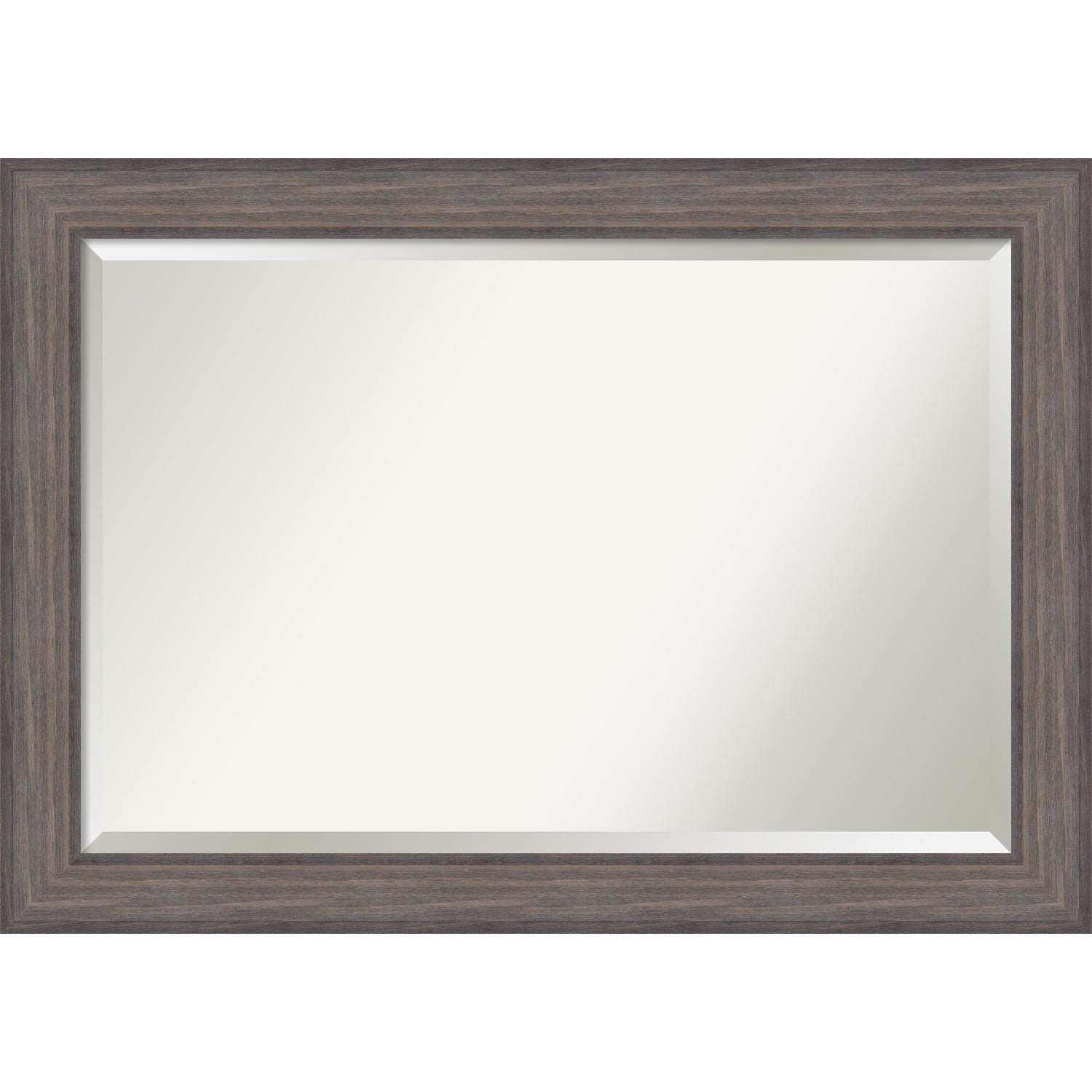 Bathroom Mirror Extra Large Country Barnwood 42 X 30 Inch Grey Free Shipping Today 15342208