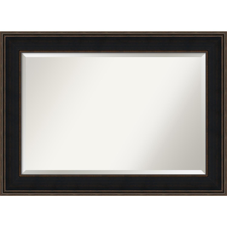 Bathroom Mirror Extra Large, Mezzanine Espresso 44 x 32-inch