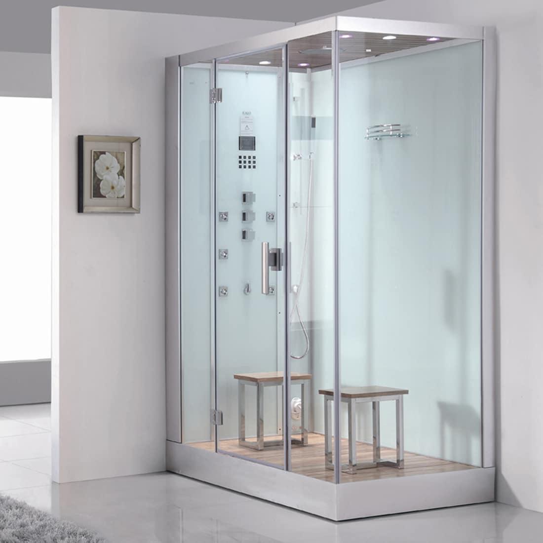 Shop Ariel DZ961F8W-L Platinum Steam Shower - Free Shipping Today ...