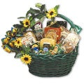 Sunflower Treats Medium Gift Basket