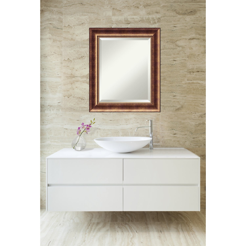 Bathroom Mirror Medium, Manhattan Bronze - Free Shipping Today ...