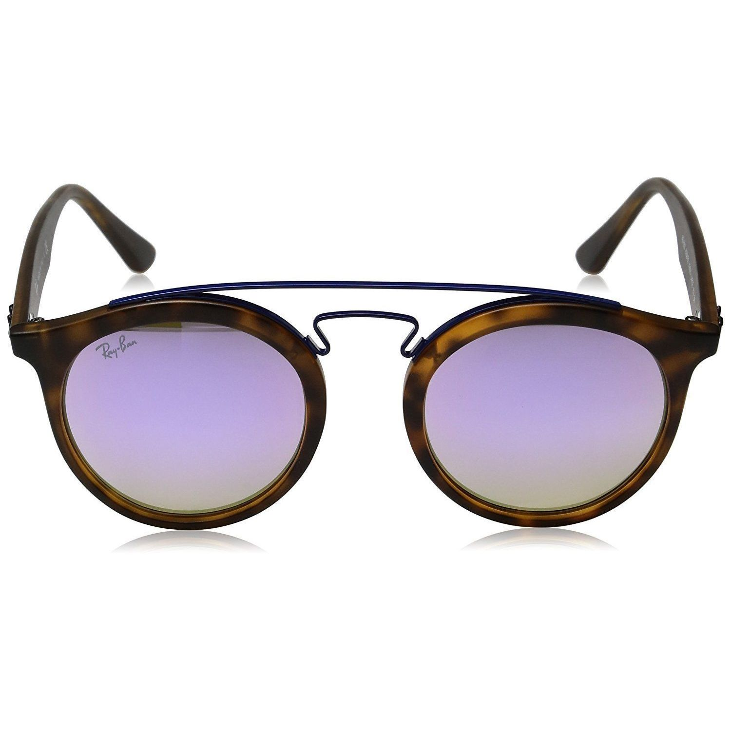 3076a2d78d Shop Ray-Ban Gatsby I RB4256 Unisex Tortoise Frame Lilac Gradient Mirror Lens  Sunglasses - Ships To Canada - Overstock - 15371453
