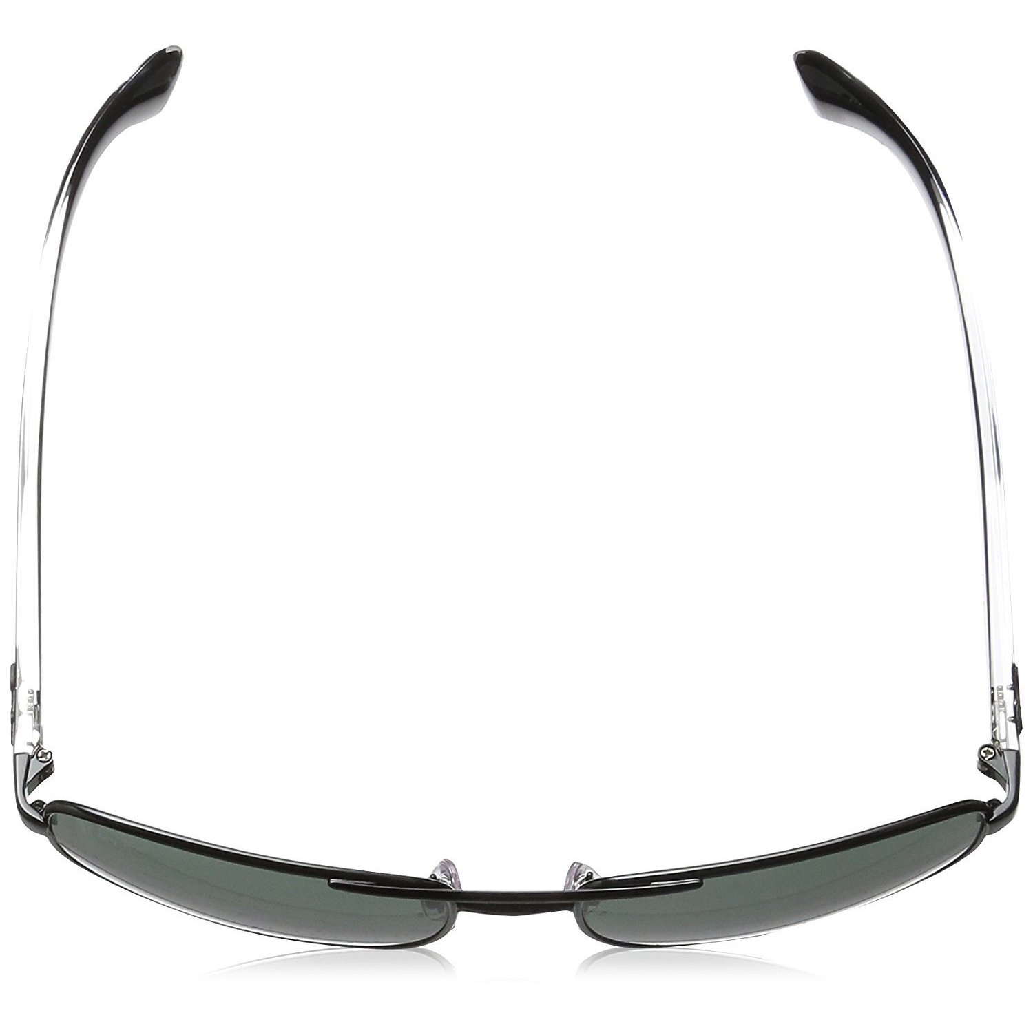 88c1e569f6e76 Shop Ray-Ban RB3533 Men s Black Transparent Frame Green Classic 57mm Lens  Sunglasses - Free Shipping Today - Overstock - 15371513