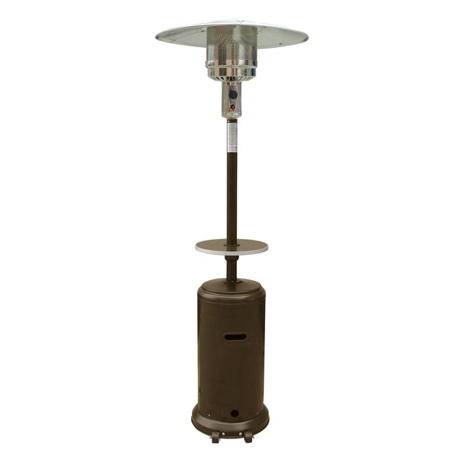 Merveilleux Shop Hiland Patio Heater In Hammered Bronze   On Sale   Free Shipping Today    Overstock.com   15371844