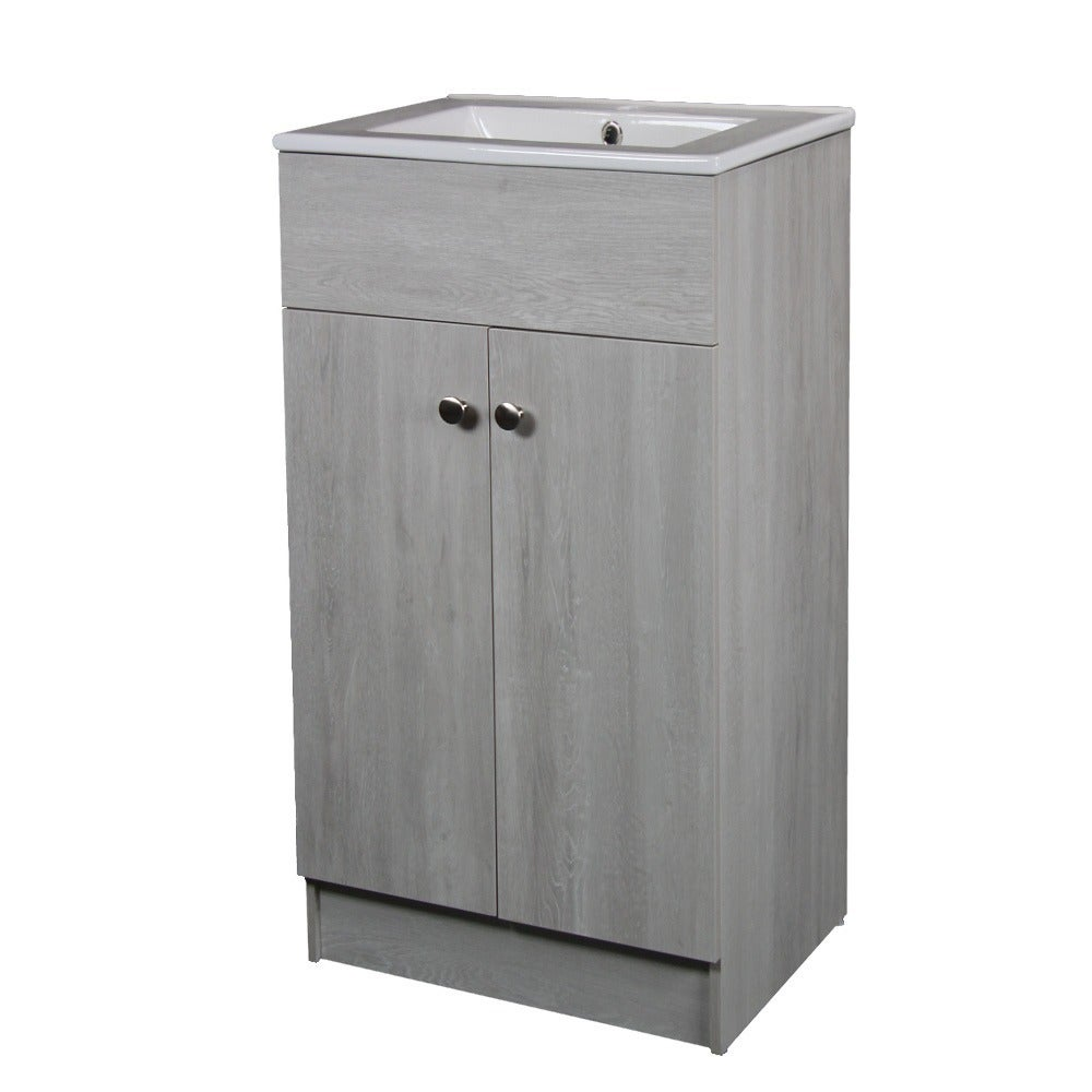 Exceptionnel Shop Ceramic 19 Inch Sink Top Single Sink Bathroom Vanity In Whitewash  Finish   Free Shipping Today   Overstock.com   15372045