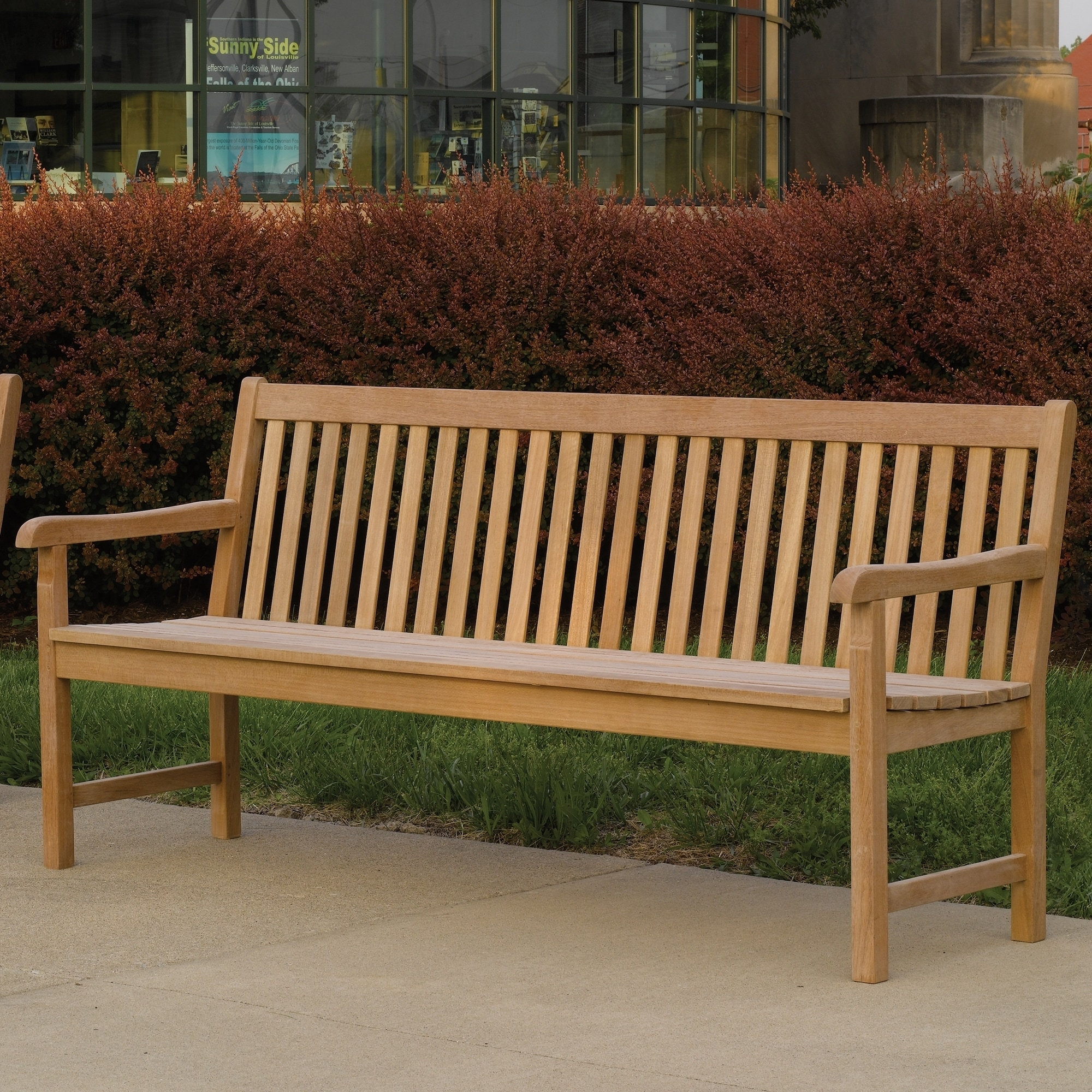 Shop Oliver & James Dolabella Classic 72-inch Outdoor Bench - Free ...