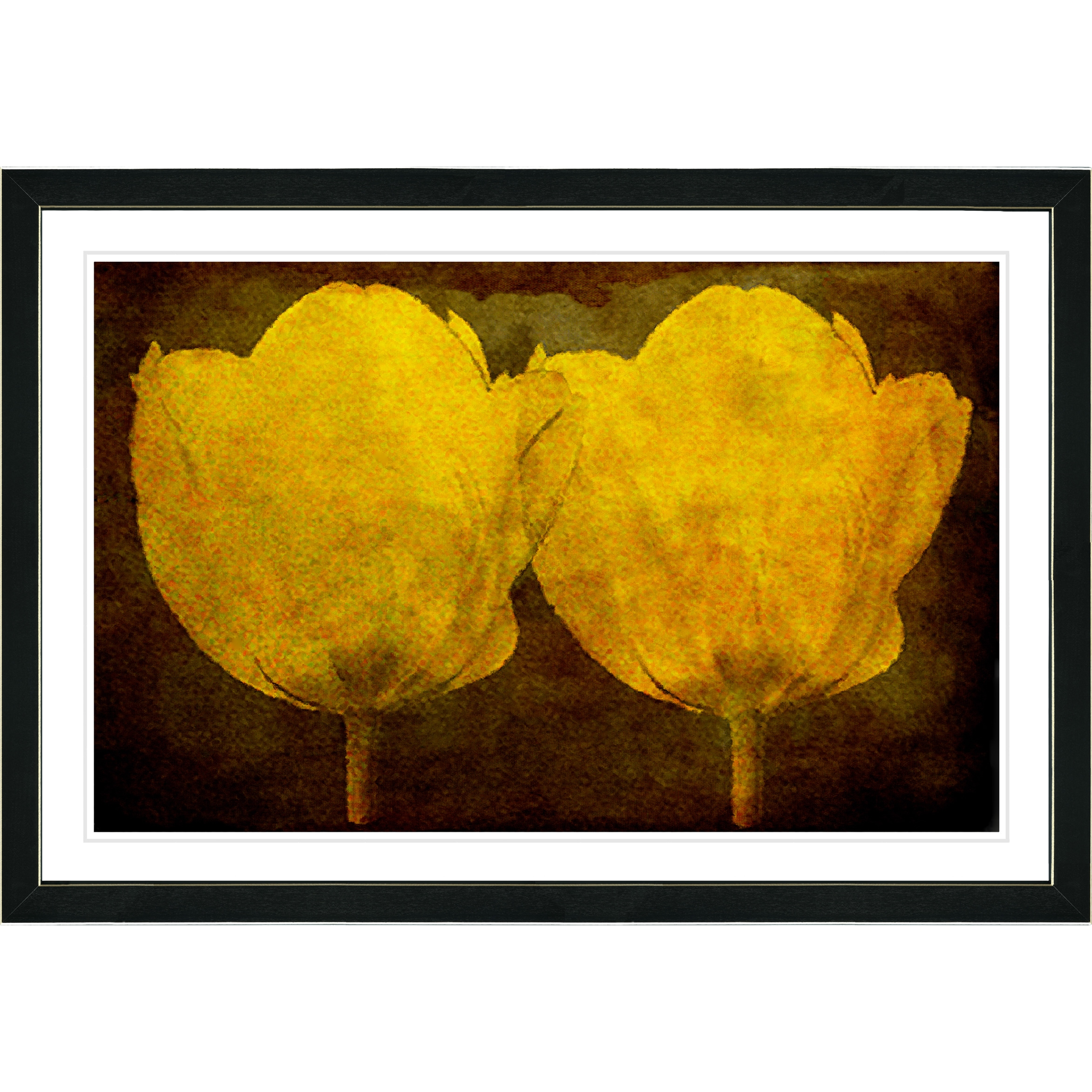 Studio Works Modern Framed Fine Art Floral Still Life Painting ...