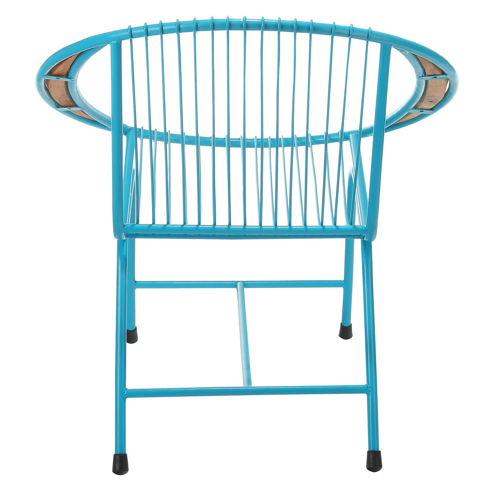 Shop Brooklyn Metal Wire Chair, Blue (Bali) - Free Shipping Today ...