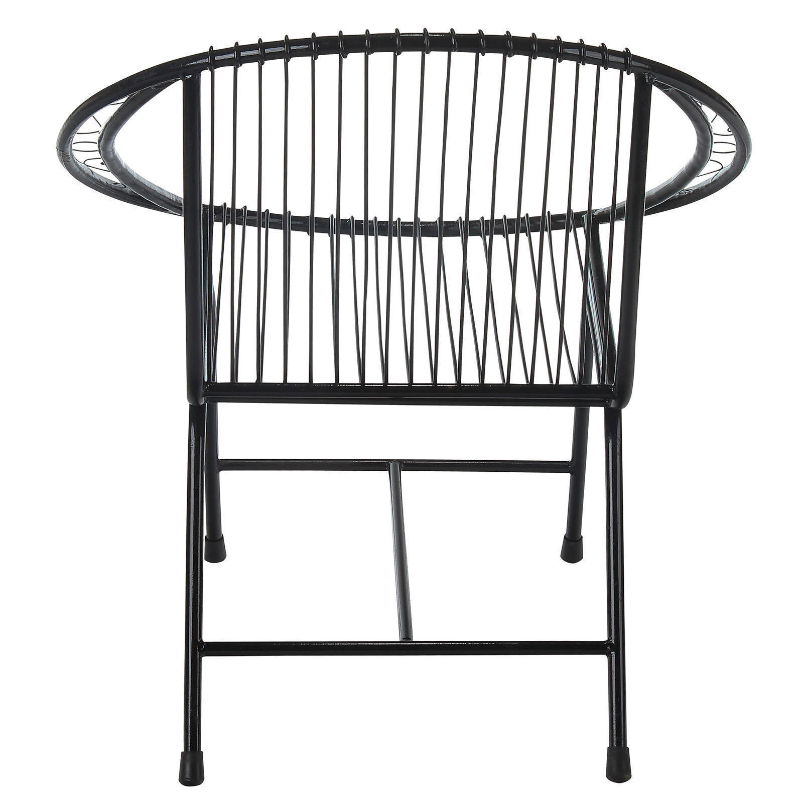 Captivating Terrace Metal Wire Chair, Black Filigree   Free Shipping Today   Overstock    21848915