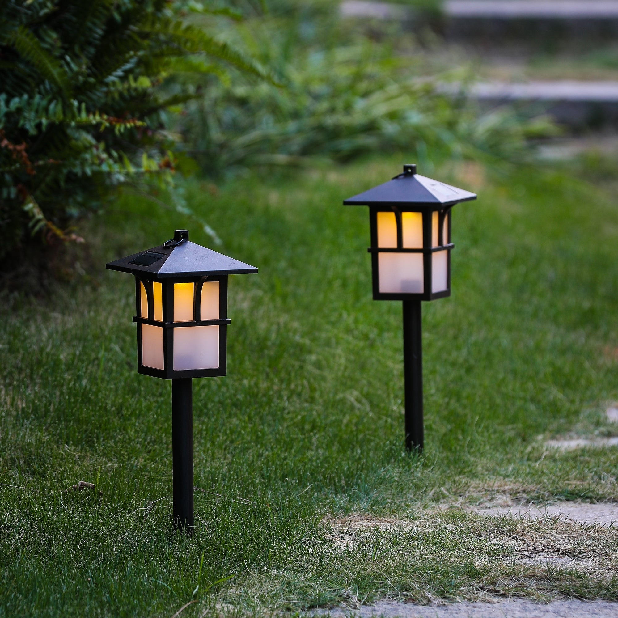 Set Of 2 Paa Solar Pathway Lights On Free Shipping Orders Over 45 15390599