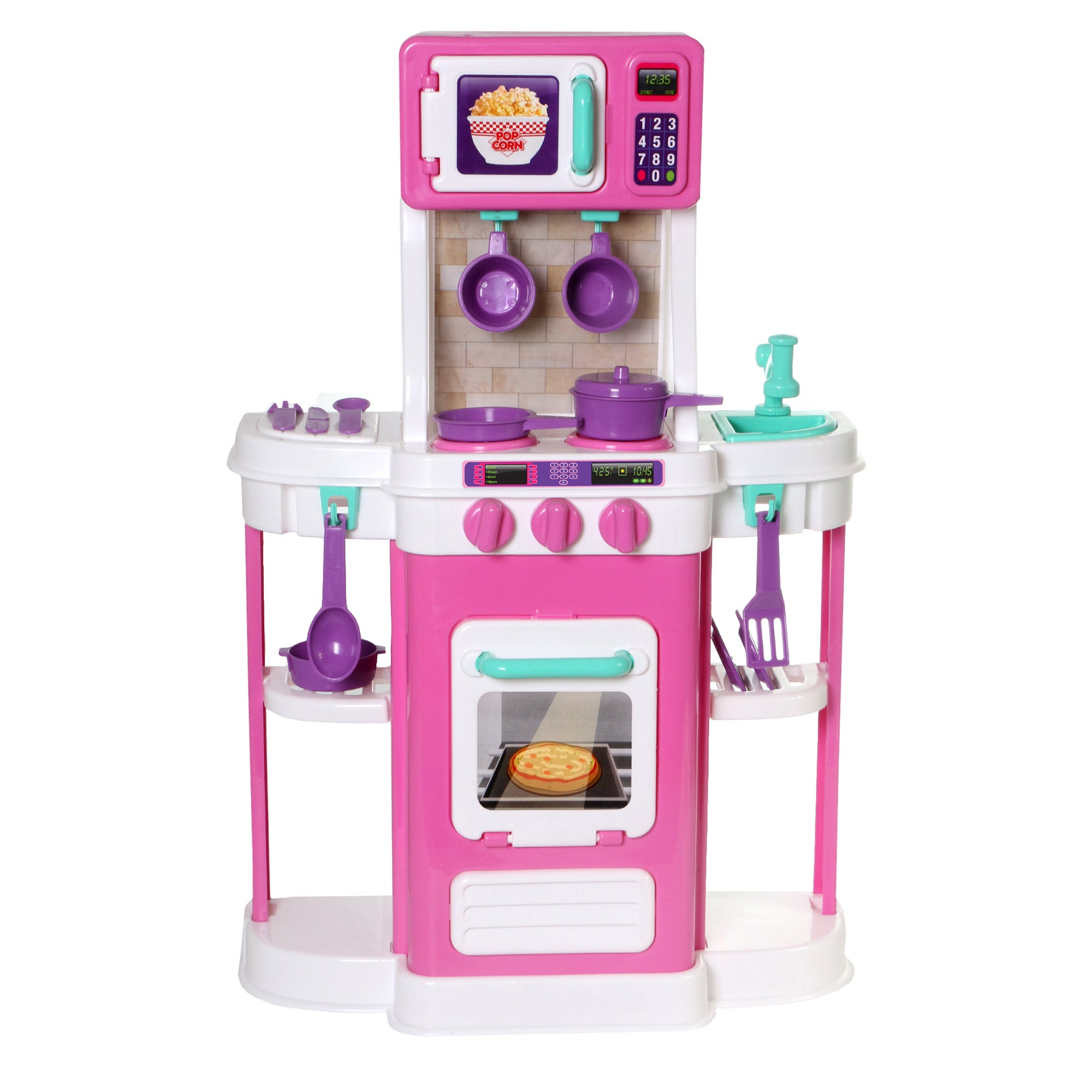 Amloid Pink Embled My First Cookin Kitchen Free Shipping On Orders Over 45 15435550