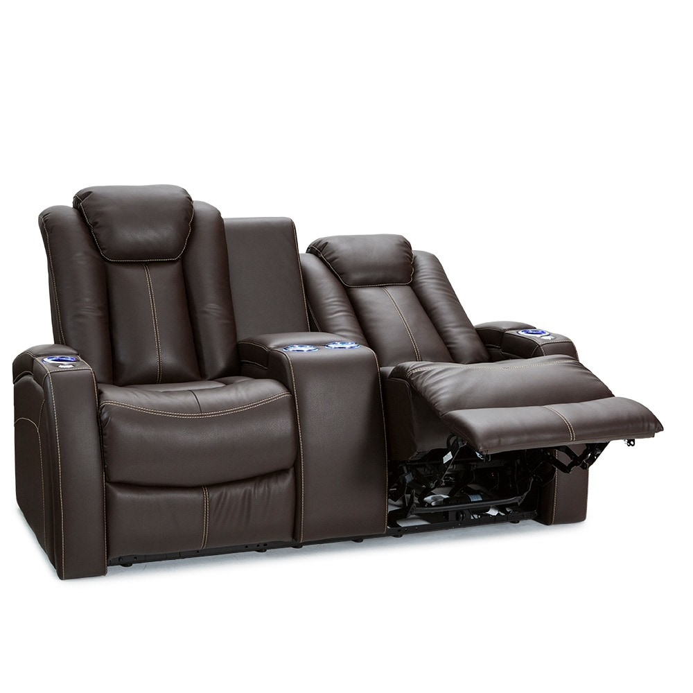 recliners tony adjustable led loveseat power home holders theatre collection lighting theater reclining seating cup headrest lv