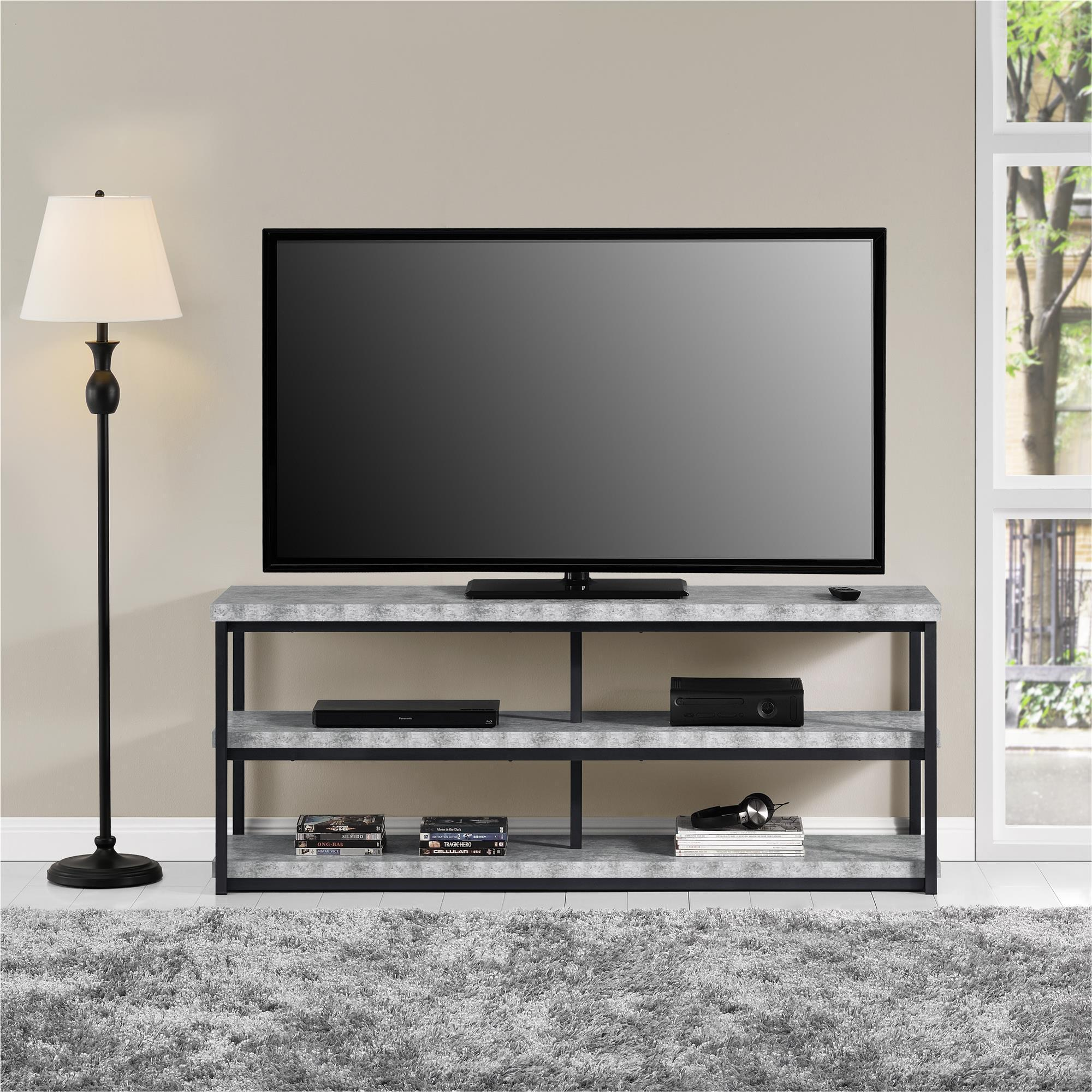 Ameriwood Home Ashlar 65 inch Concrete Grey TV