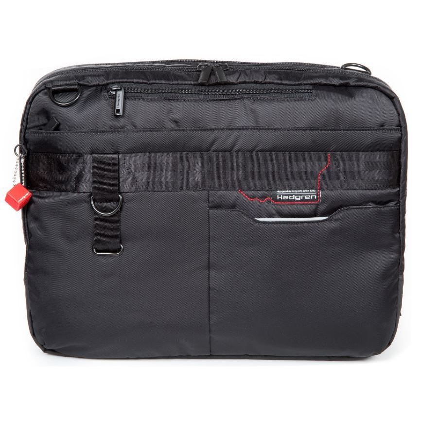 Shop Hedgren Brook 3-Way 15-inch Laptop Business Bag - Free Shipping Today  - Overstock.com - 15437930 8937d255e7