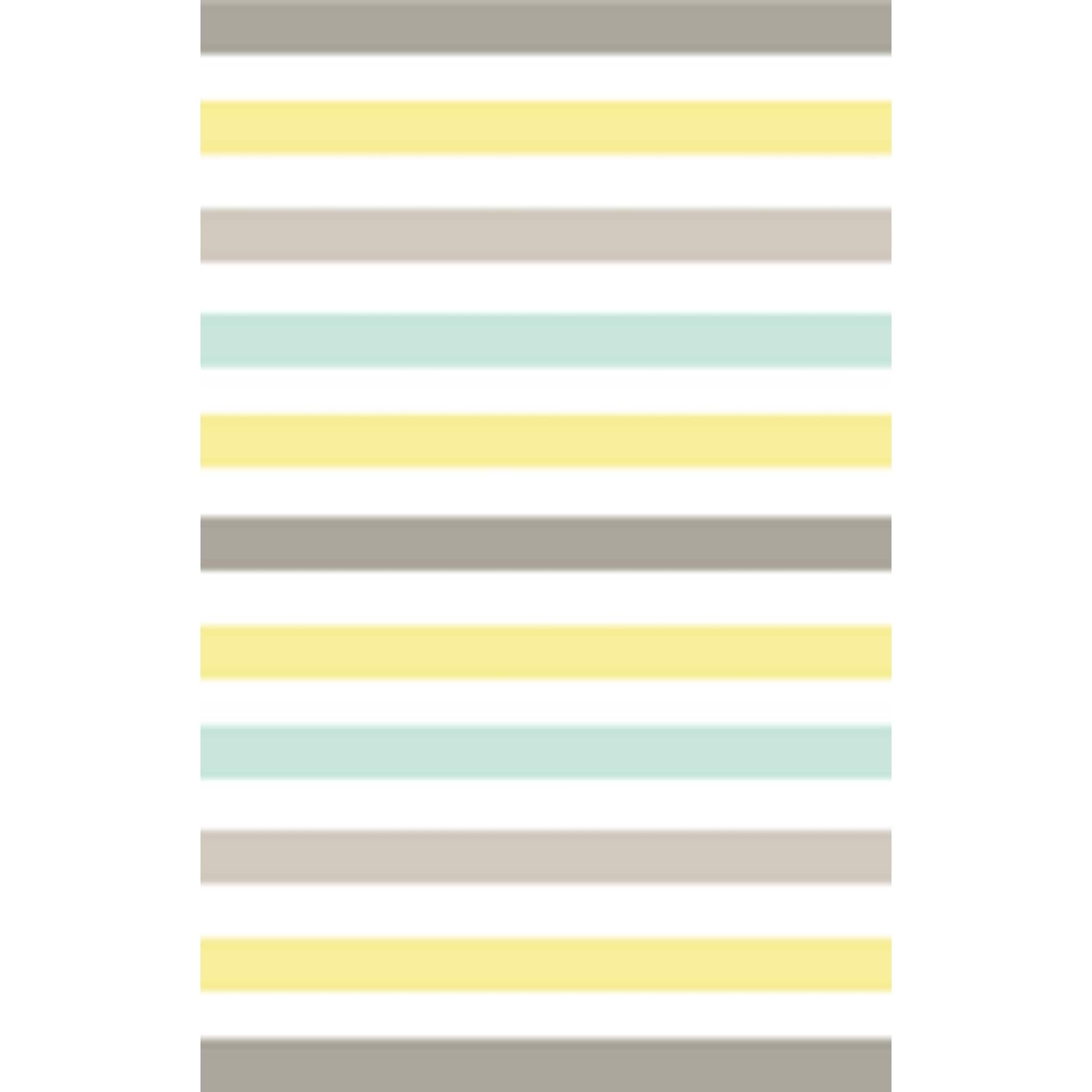 Shop Martha Stewart by Safavieh Circus Stripe Zinc / Yellow / Blue ...