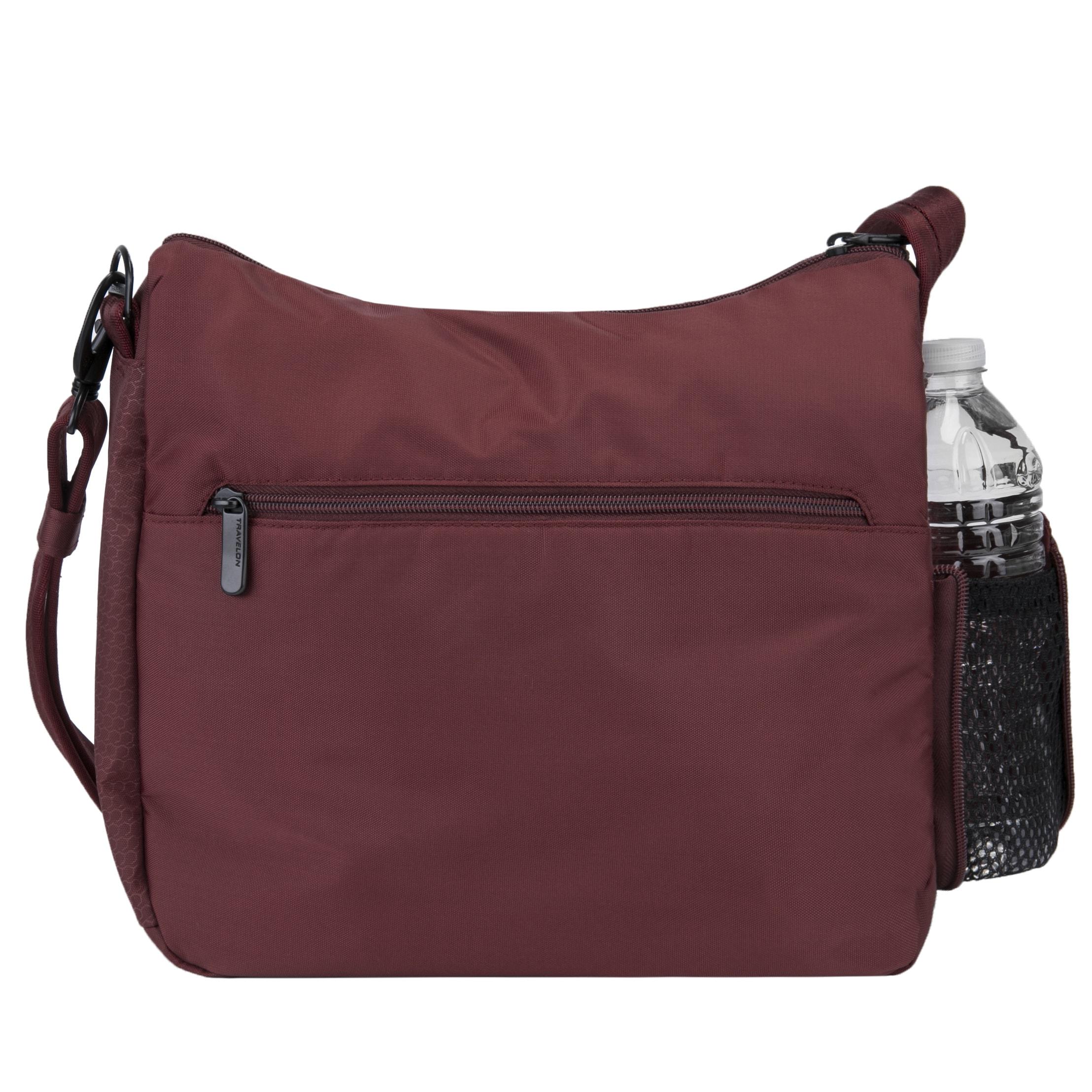 5aef7196ae33 Shop Travelon Anti-Theft Active Medium Crossbody Bag - Free Shipping Today  - Overstock - 15614287