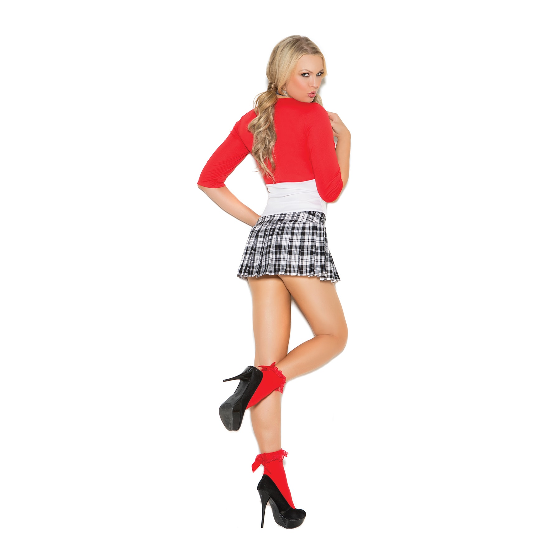 6e56bdb738d Shop Elegant Moments 2-piece Schoolgirl Costume - Free Shipping On Orders  Over  45 - Overstock - 15616504