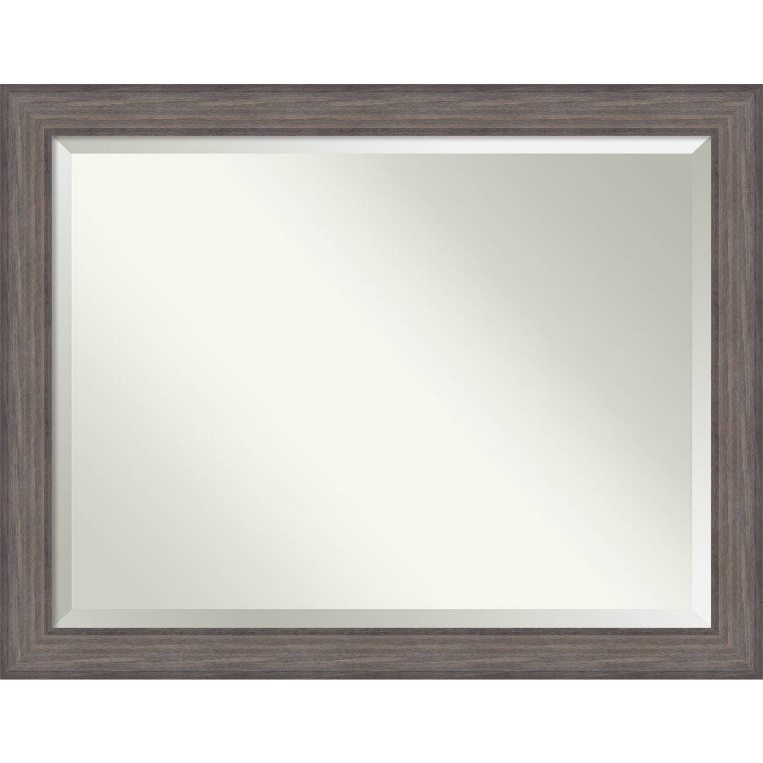 Shop Bathroom Mirror Oversize Large Country Barnwood 46 X 36 Inch