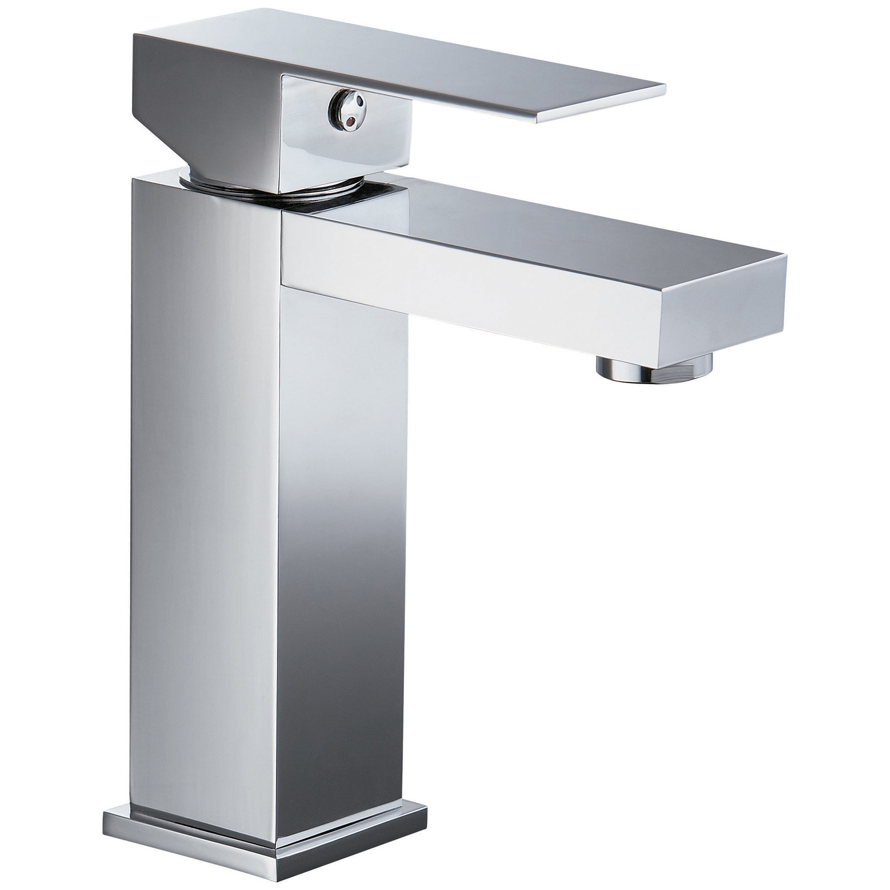 Dawn Chrome Single-lever Standard Pull-up Drain Lavatory Faucet With ...