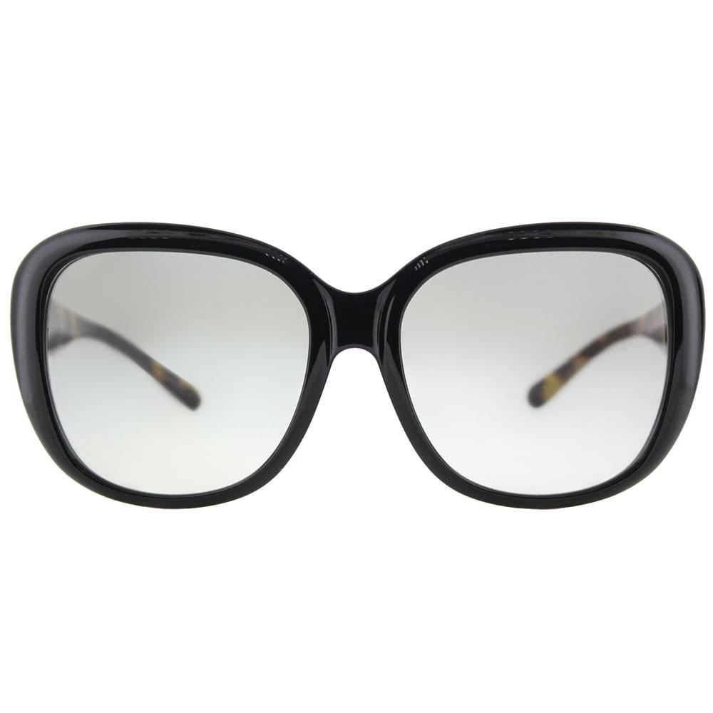 13951df2f5 Shop Coach HC 8207 544911 L1634 Black Plastic Square Sunglasses Light Grey  Gradient Lens - Free Shipping Today - Overstock.com - 15627615
