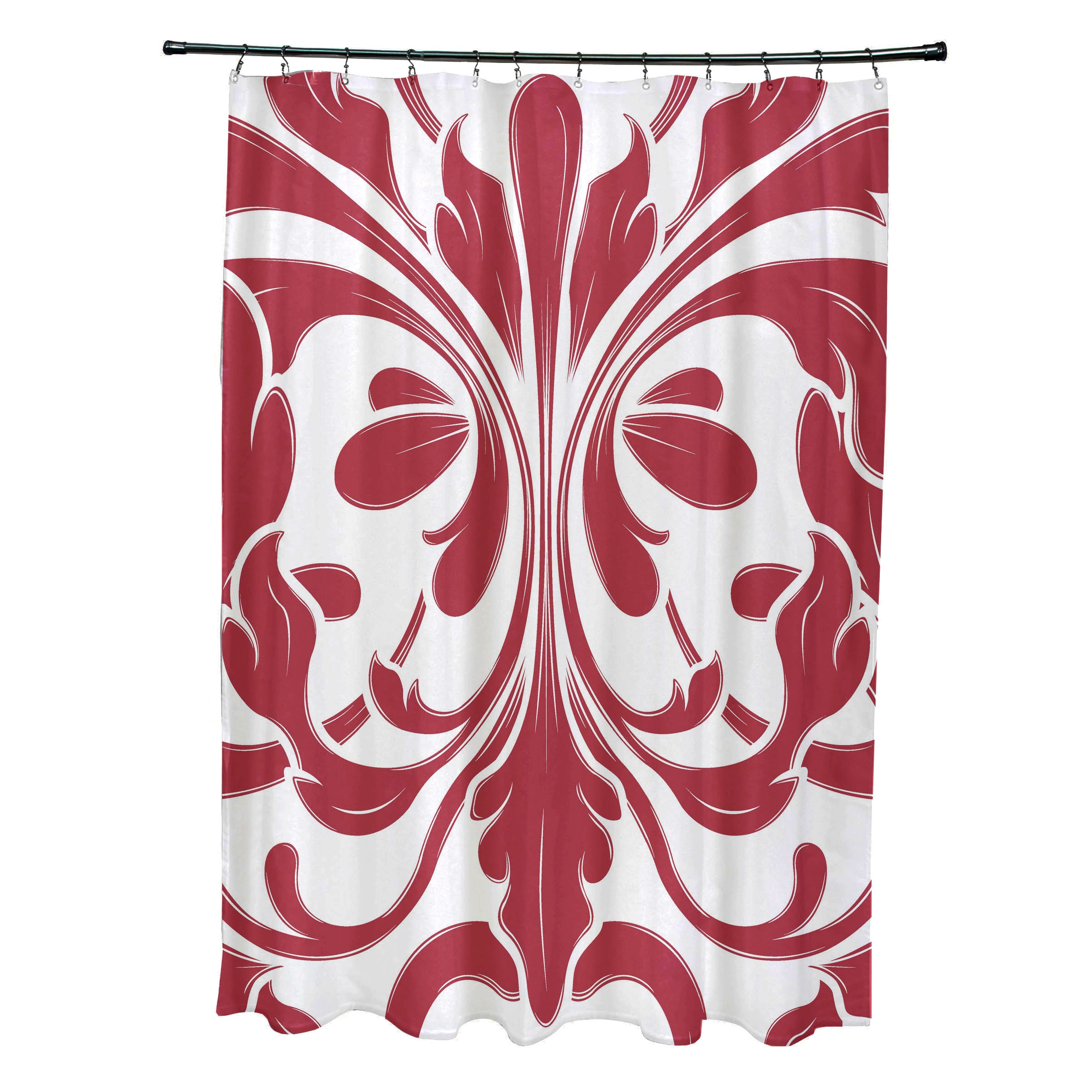 Shop British Colonial Geometric Print Shower Curtain