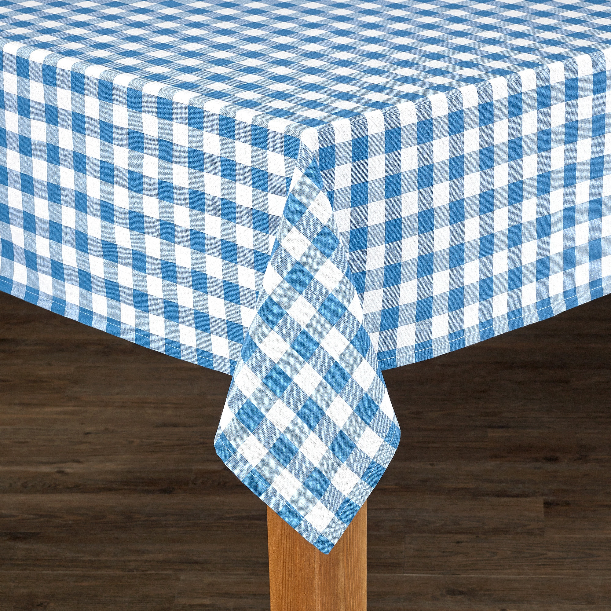Shop Buffalo Check Cotton Imported Tablecloth   On Sale   Free Shipping On  Orders Over $45   Overstock.com   15629107