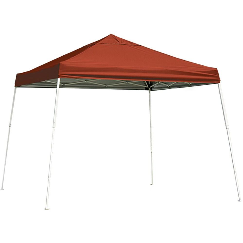 Shelter Logic SL 10u0027 x 10u0027 Pop-up Canopy  sc 1 st  Overstock.com & Shop Shelter Logic SL 10u0027 x 10u0027 Pop-up Canopy - Free Shipping Today ...