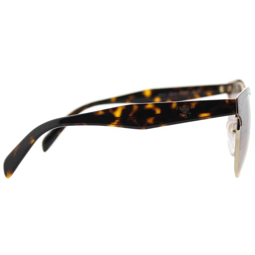 2ad35d30cb Shop Prada PR 61TS DHO3D0 Brown And Gold Metal Square Sunglasses Brown  Gradient Lens - Free Shipping Today - Overstock - 15634191