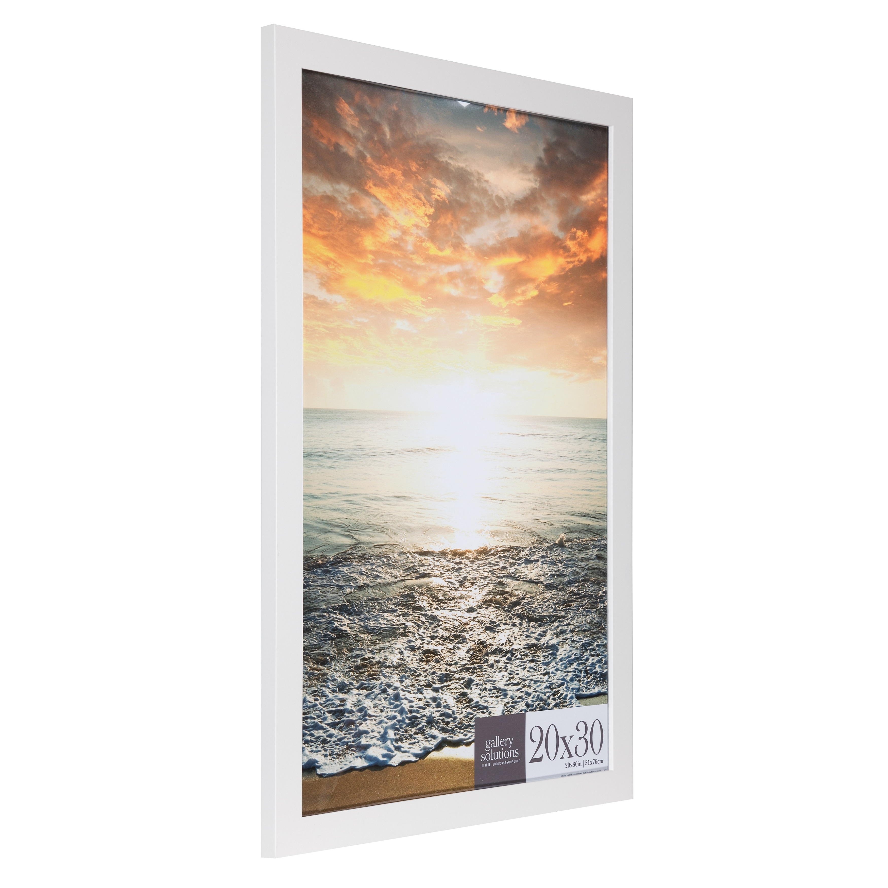 mats shipping today garden overstock flat free large white frame mat with home wall product