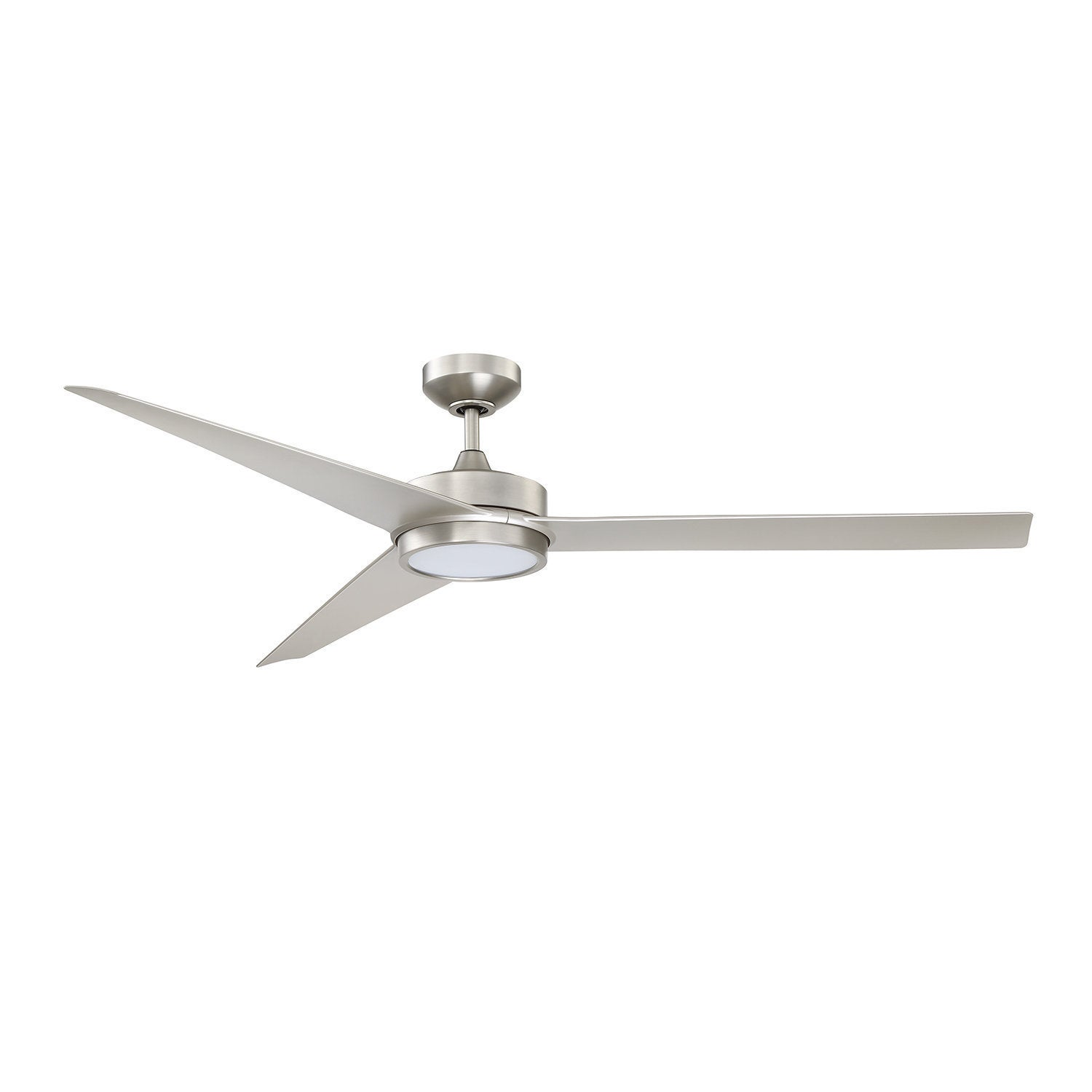 Triceptor Satin Nickel 60 inch LED DC motor Ceiling Fan Free