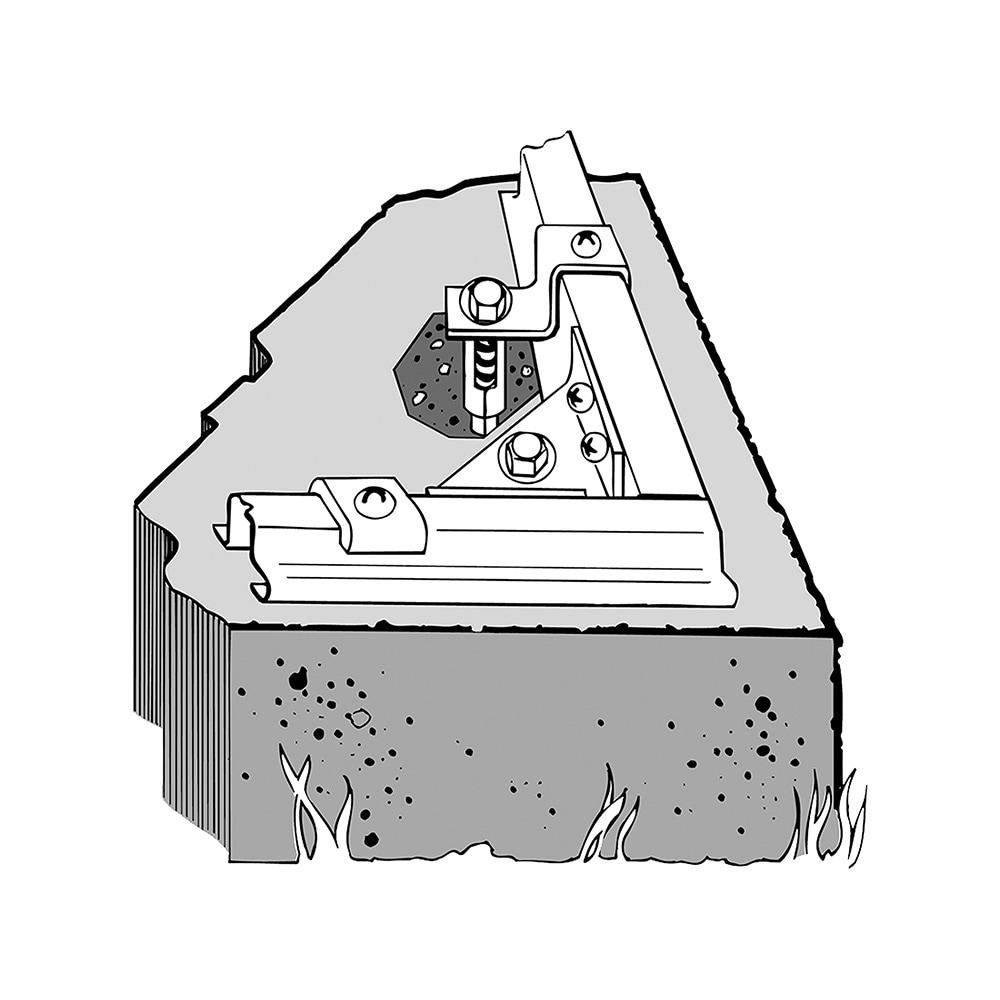 Arrow Concrete Anchor Kit (Clips & Shields)