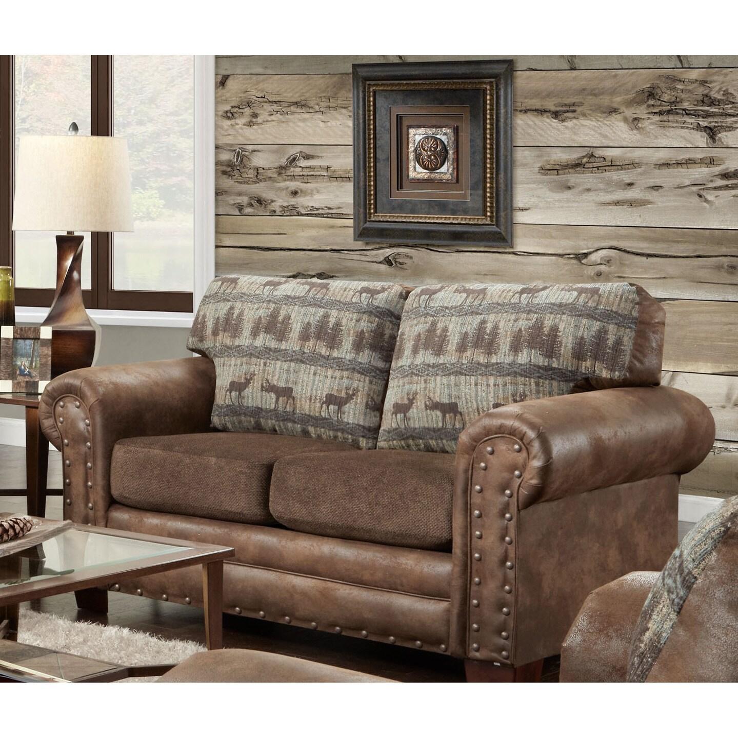 prod nail concealment accented udder src com gun classics p cowhide madness furniture head american ostkcdn bench