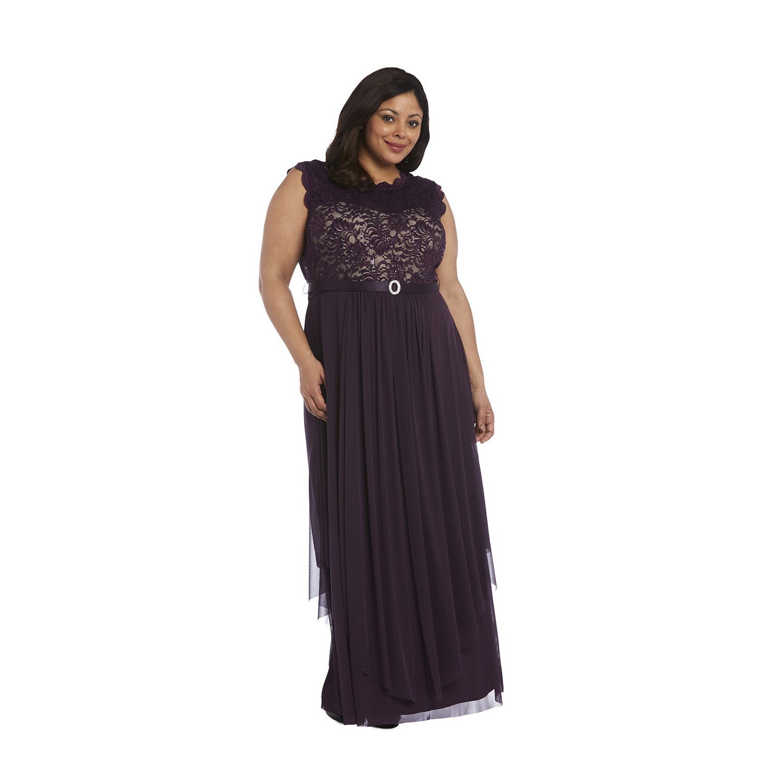 Shop R&M Richards Plus Size Evening Gown - Free Shipping Today ...