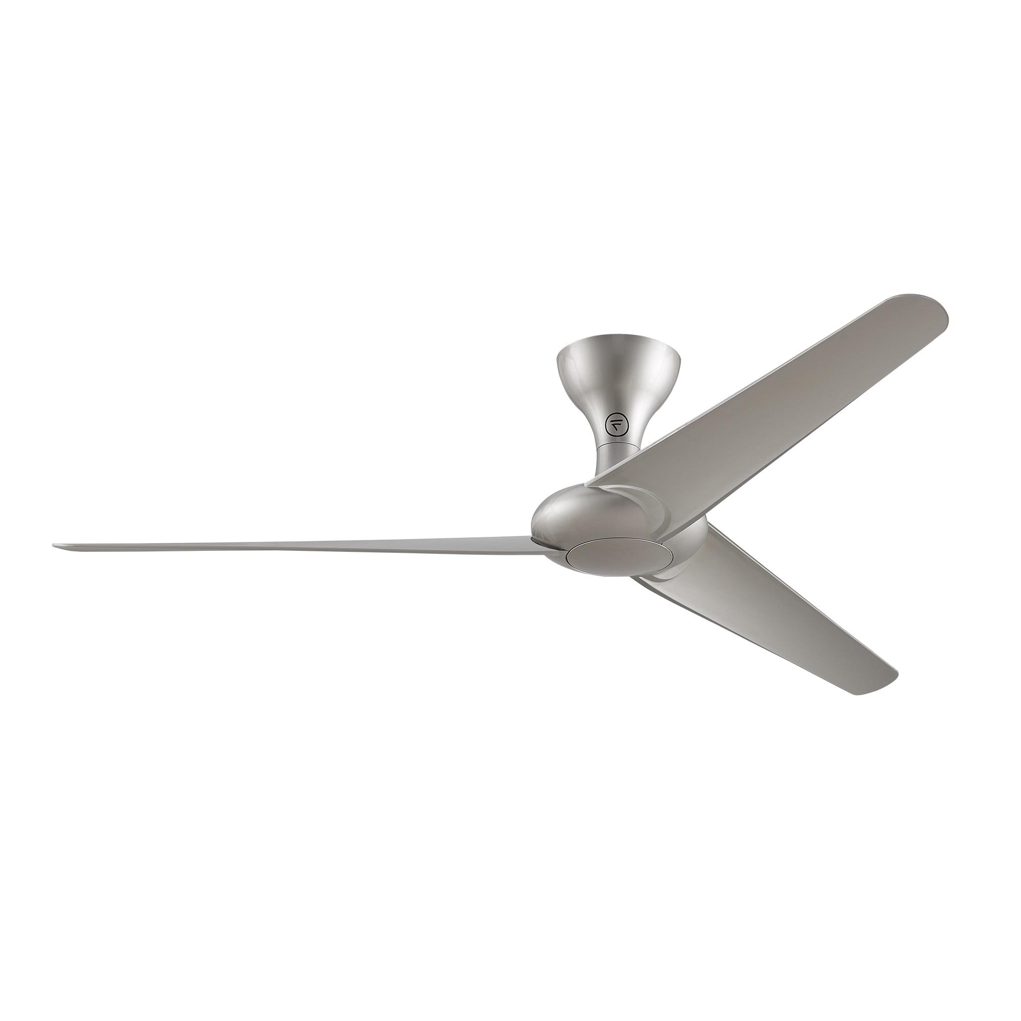Fanimation Drone 60 inch Ceiling Fan Silver Free Shipping