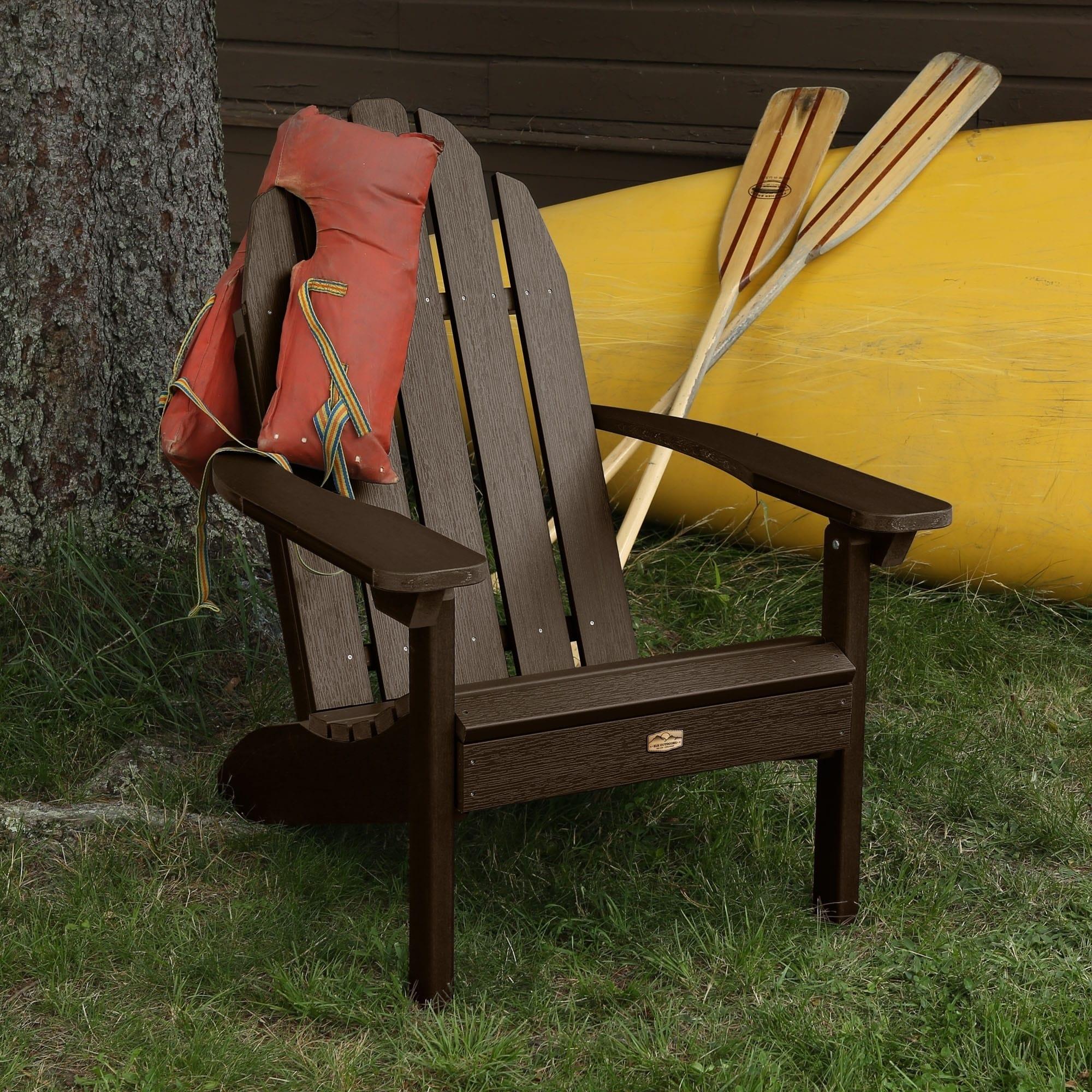 Shop ELK OUTDOORS® Essential Eco-Friendly Adirondack Chair - Free ...
