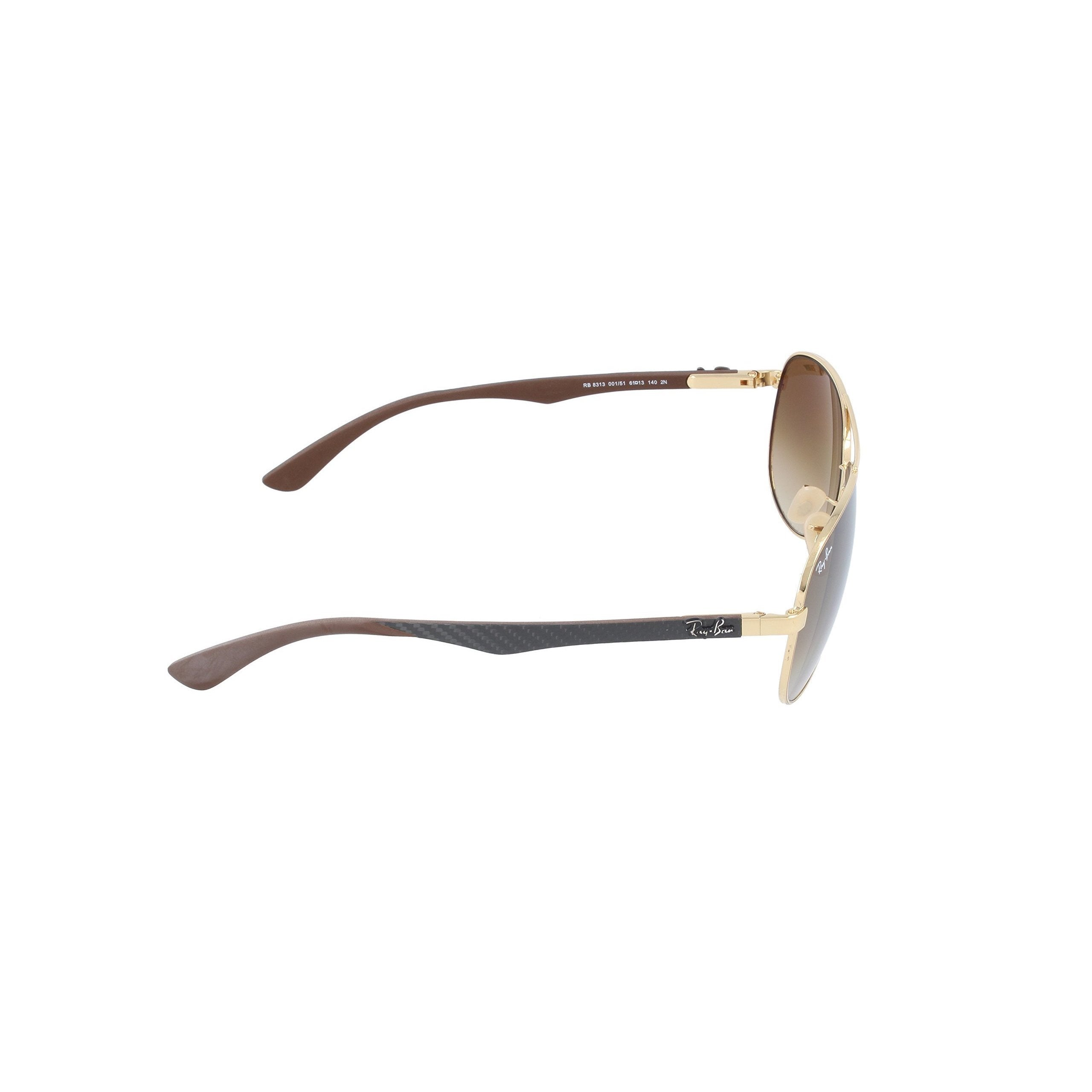 6555ef2c4ef42 Shop Ray-Ban RB8313 001 51 Unisex Gold Grey Frame Light Brown Gradient Lens  Sunglasses - Free Shipping Today - Overstock.com - 15811971