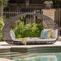 Boca Grande Outdoor Daybed with Cushions by Christopher Knight Home