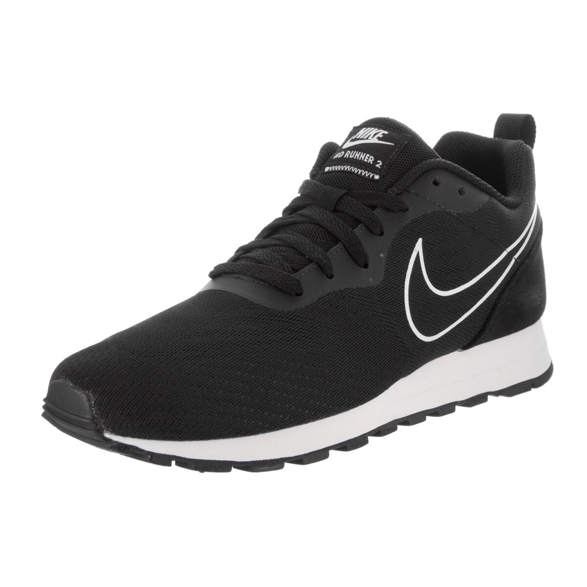 fiable à vendre vente images footlocker Nike Hommes Chaussures De Course De Maille Noire nouveau en ligne parfait meilleures ventes QC1OGF