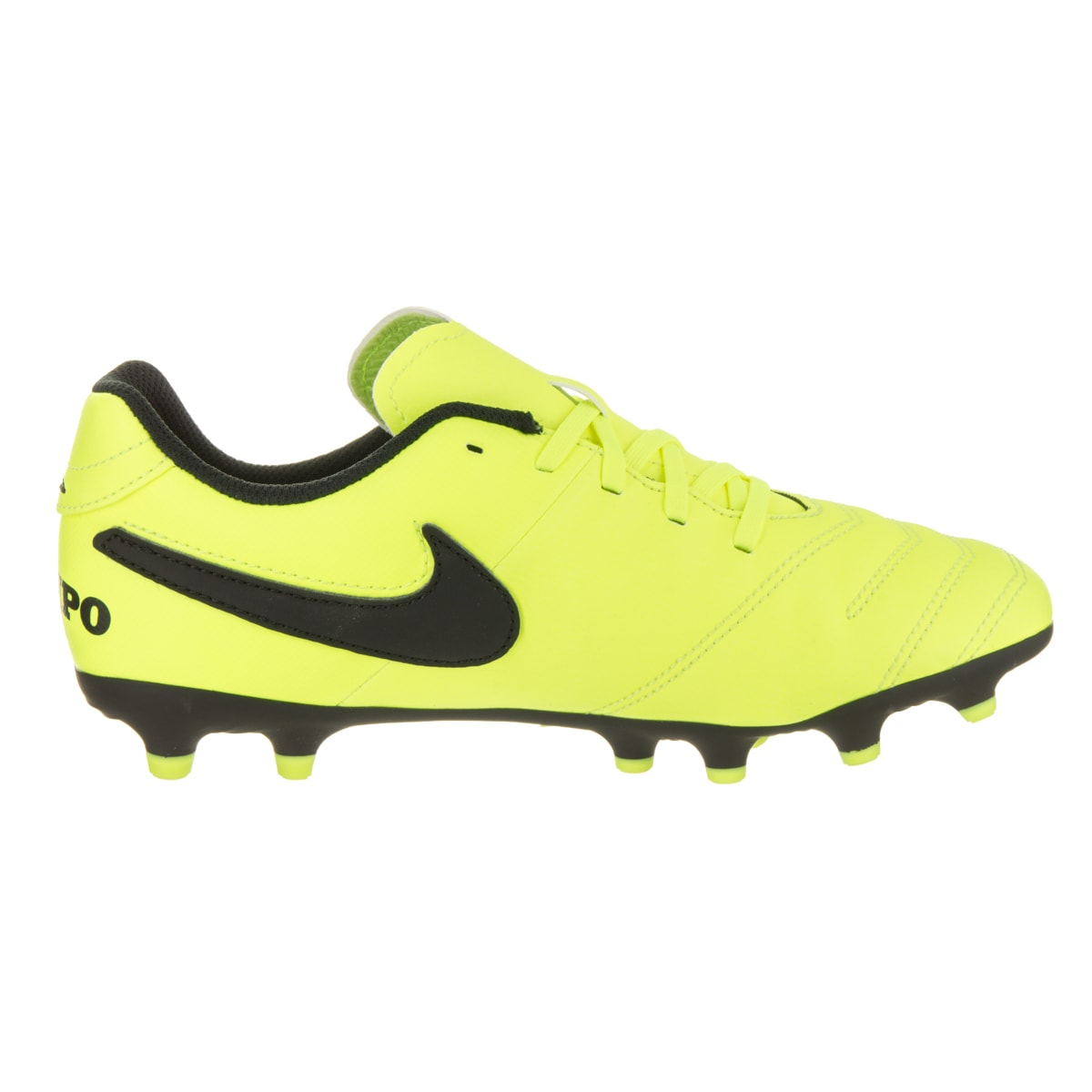 ae0a933a999 Shop Nike Kids JR Tiempo Rio III Fg Soccer Cleat - Free Shipping On Orders  Over  45 - Overstock - 15858502
