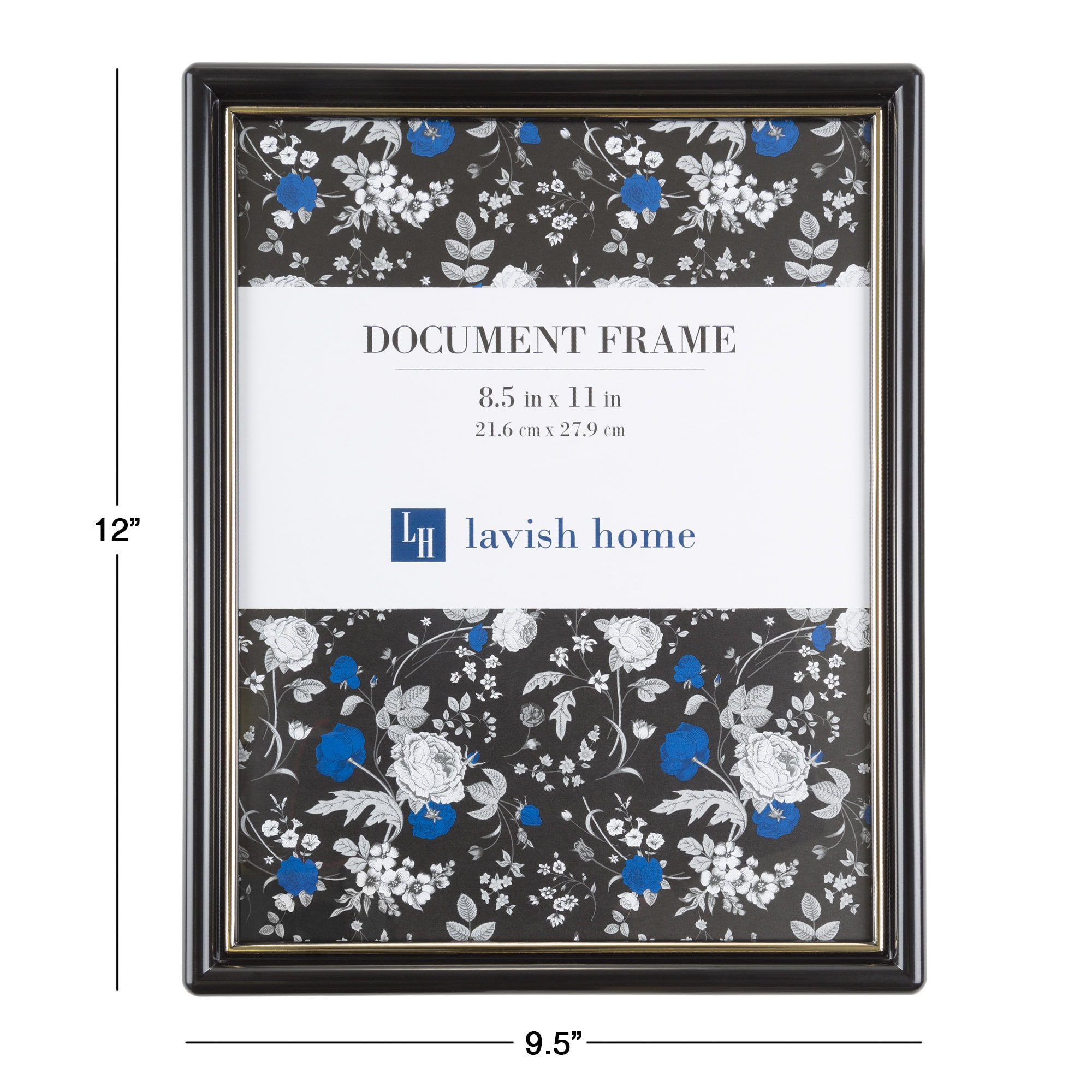 Shop Picture Frame Set, 8.5x11 Frames For Picture Gallery Wall With ...
