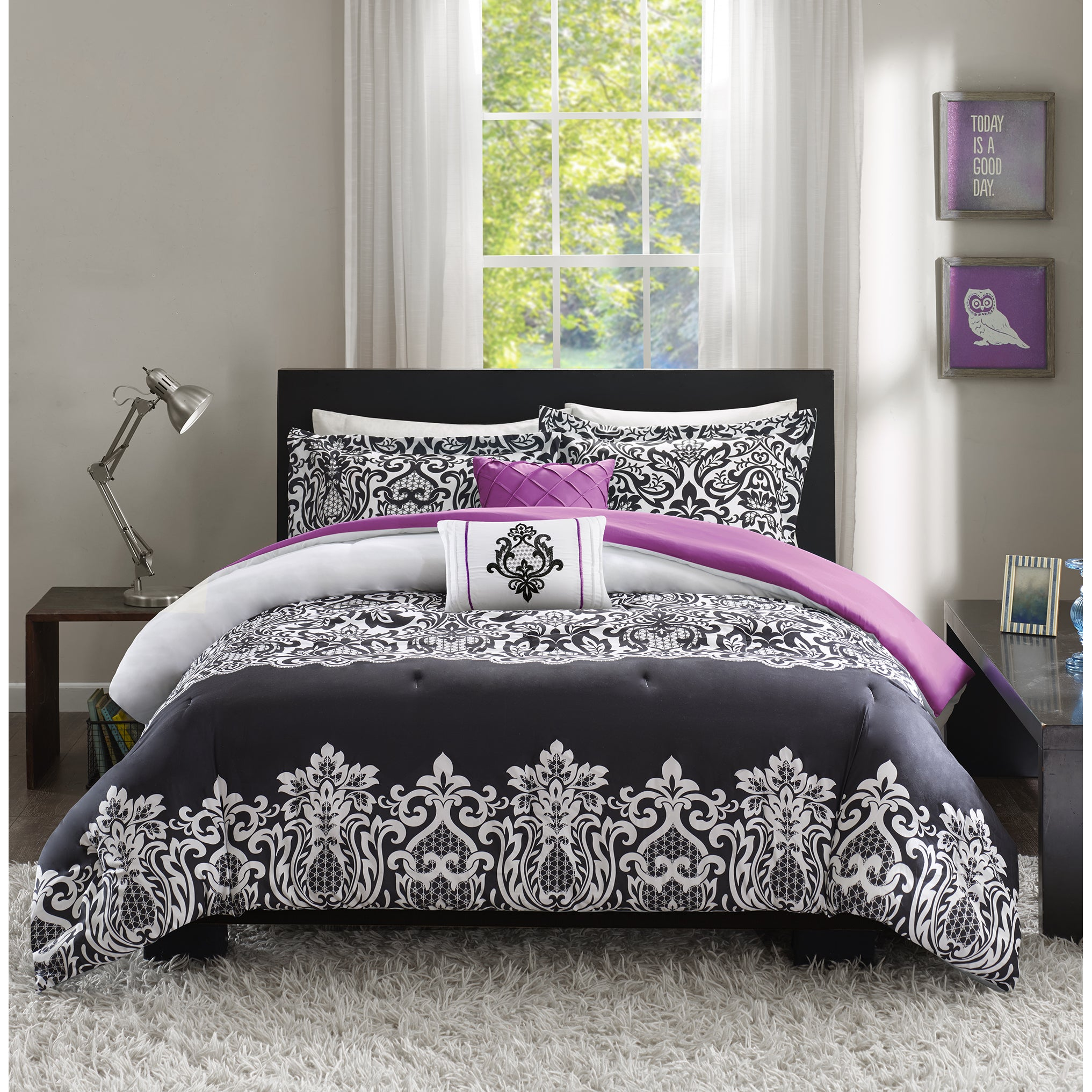 galaxy and nebula blue bed rags products screenshot purple bedding ink
