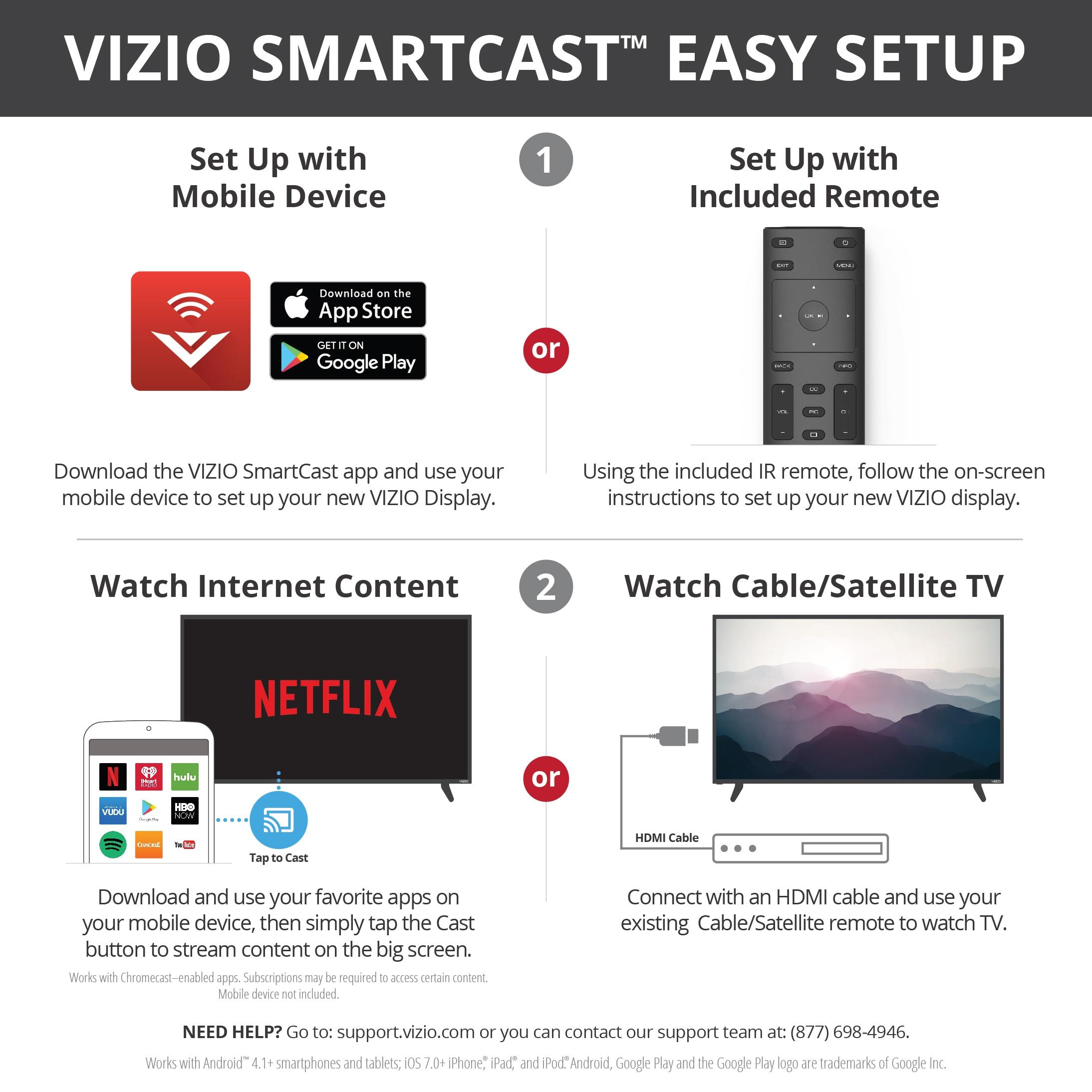 VIZIO SmartCast M55-E0 54 6