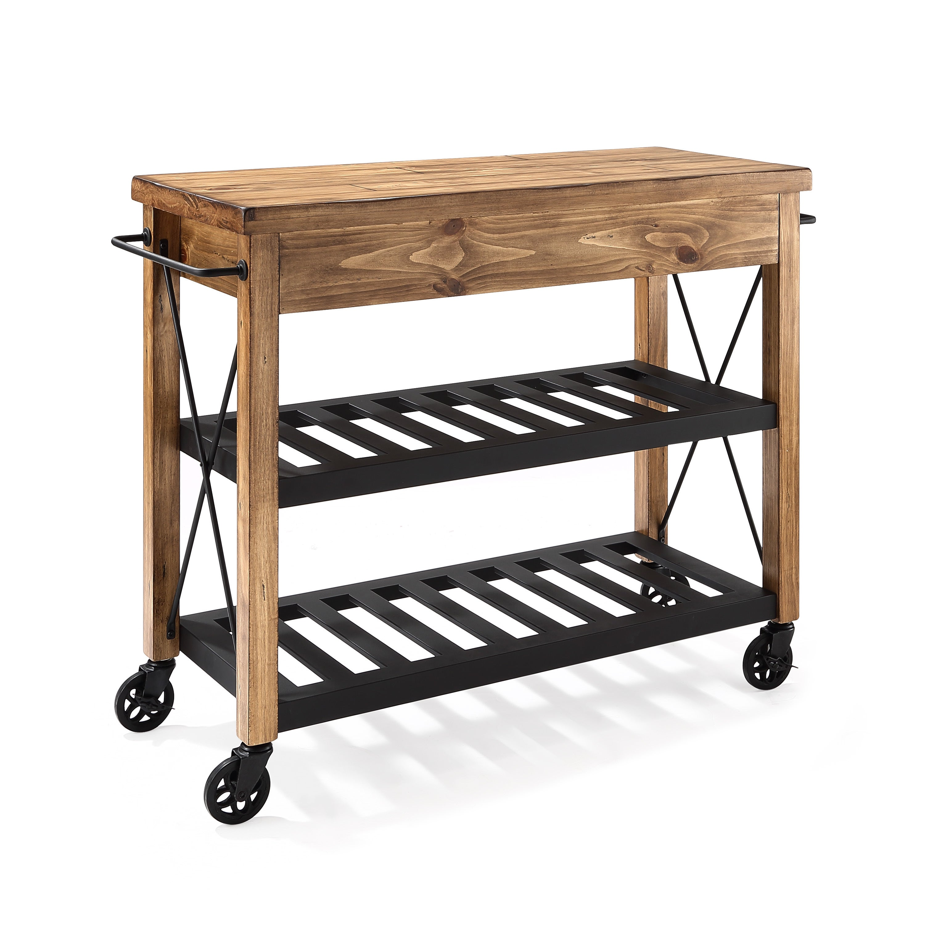 uk sch cabinet pin with sobuy amazon kitchen trolley wood and black wheels stainless cart lockable island steel co metal surface storage
