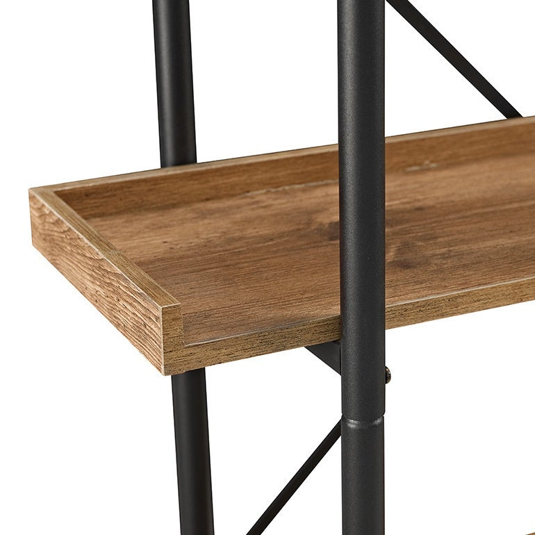 Shop Carbon Loft Edelman 68 Inch Urban Pipe Bookshelf On Sale - One-hundred-triangles-stool
