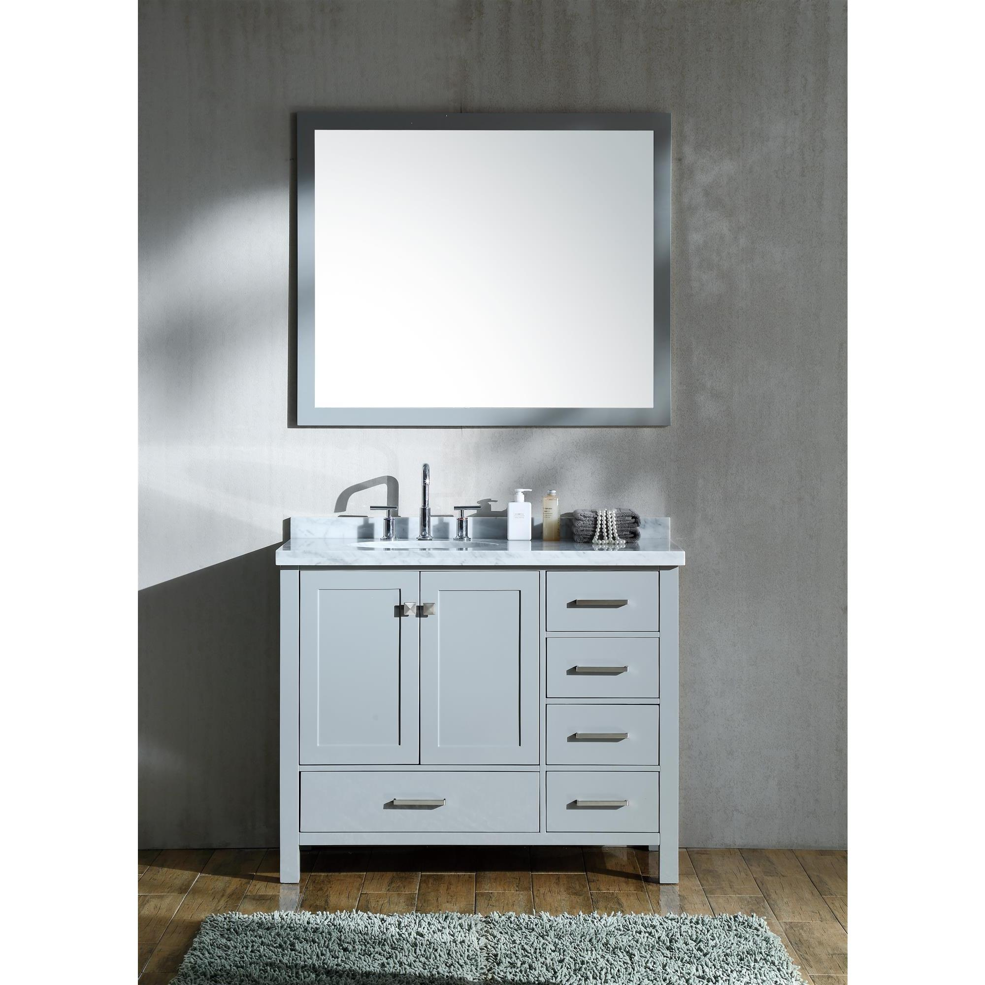 offset home single product overstock vanity left in today garden free grey ariel set inch cambridge sink shipping