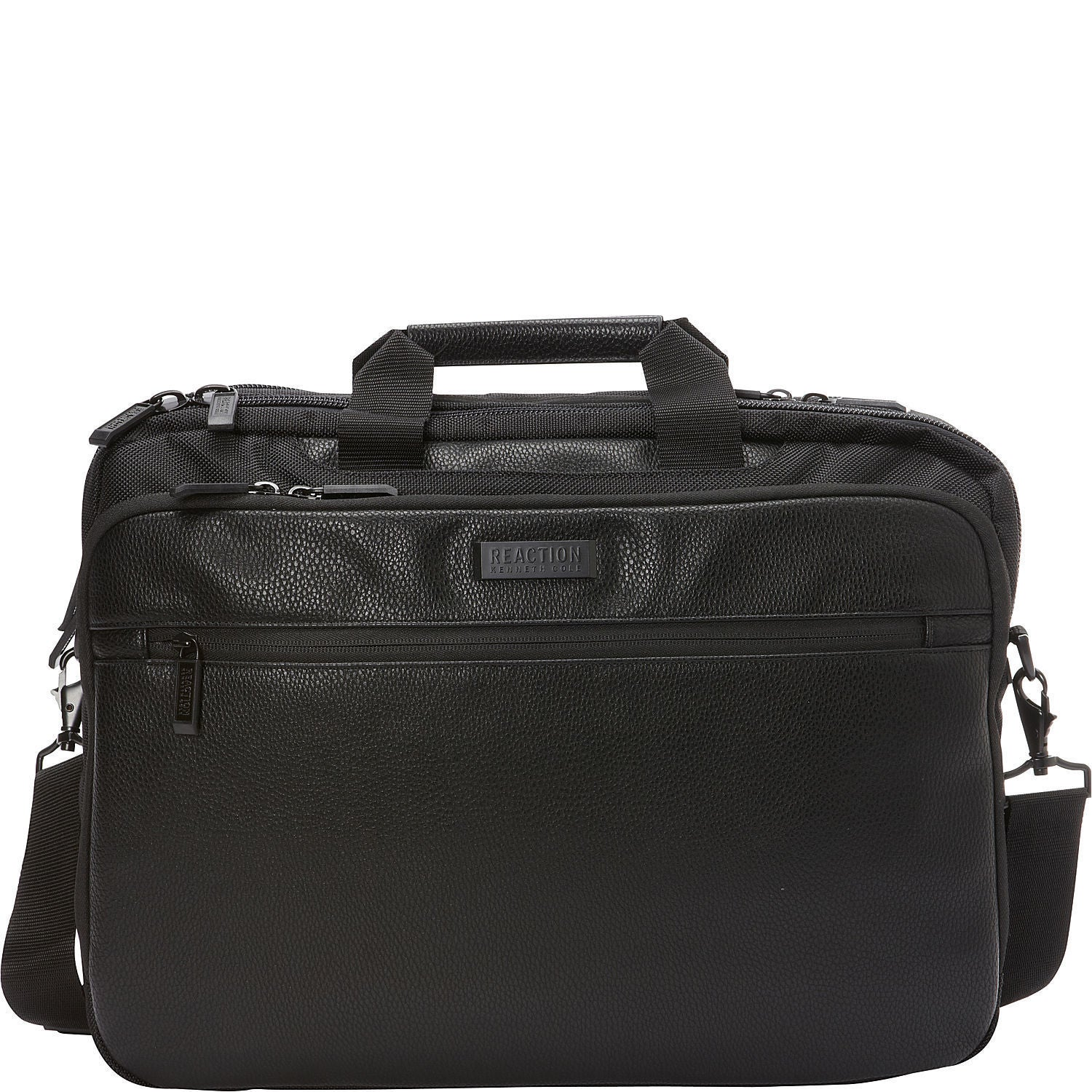 Kenneth Cole Reaction Double Compartment Checkpoint Friendly Rfid 17 Inch Laptop Bag Free Shipping Today 15872979