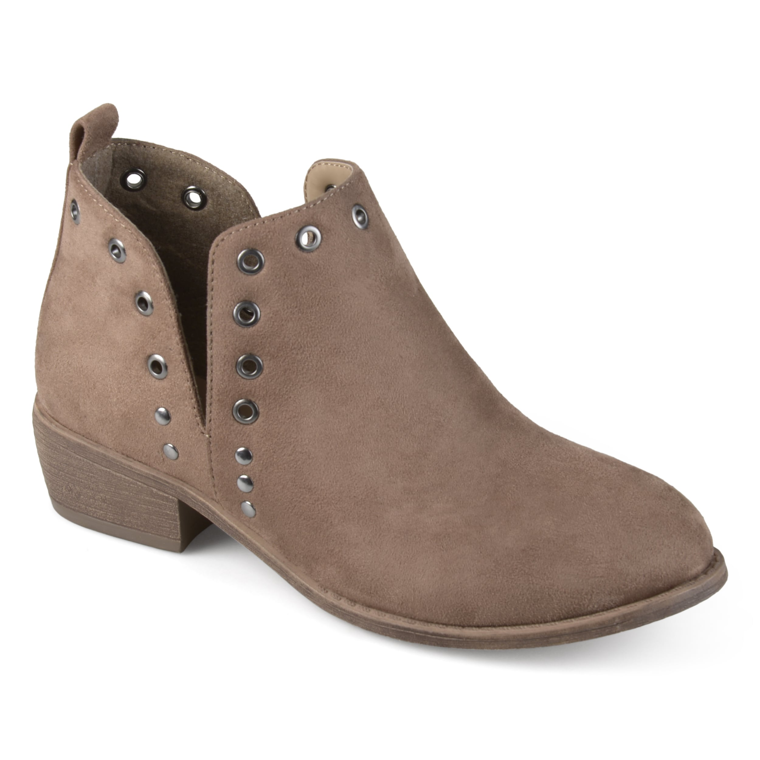 3bdf7711af83 Shop Journee Collection Women s  Firth  Side Slit Stud Booties - On Sale -  Free Shipping Today - Overstock - 15888622